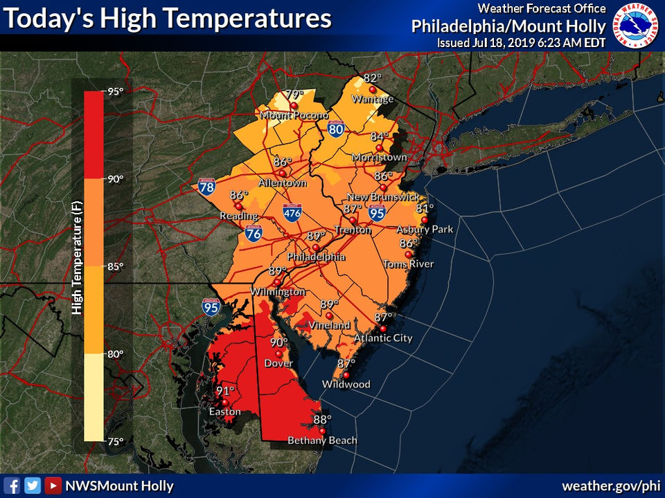 Murphy warns about 'extreme' heat wave headed N.J.'s way