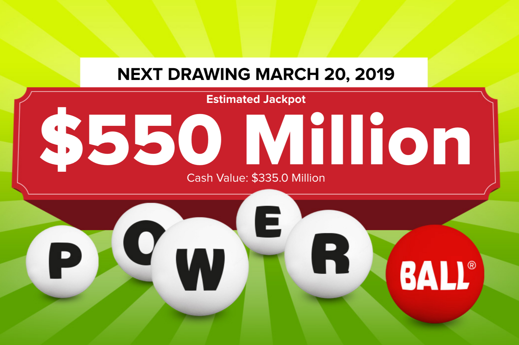 Powerball lottery tickets worth $1M sold in N.J., Pa. as jackpot soars to $550M with no big winner