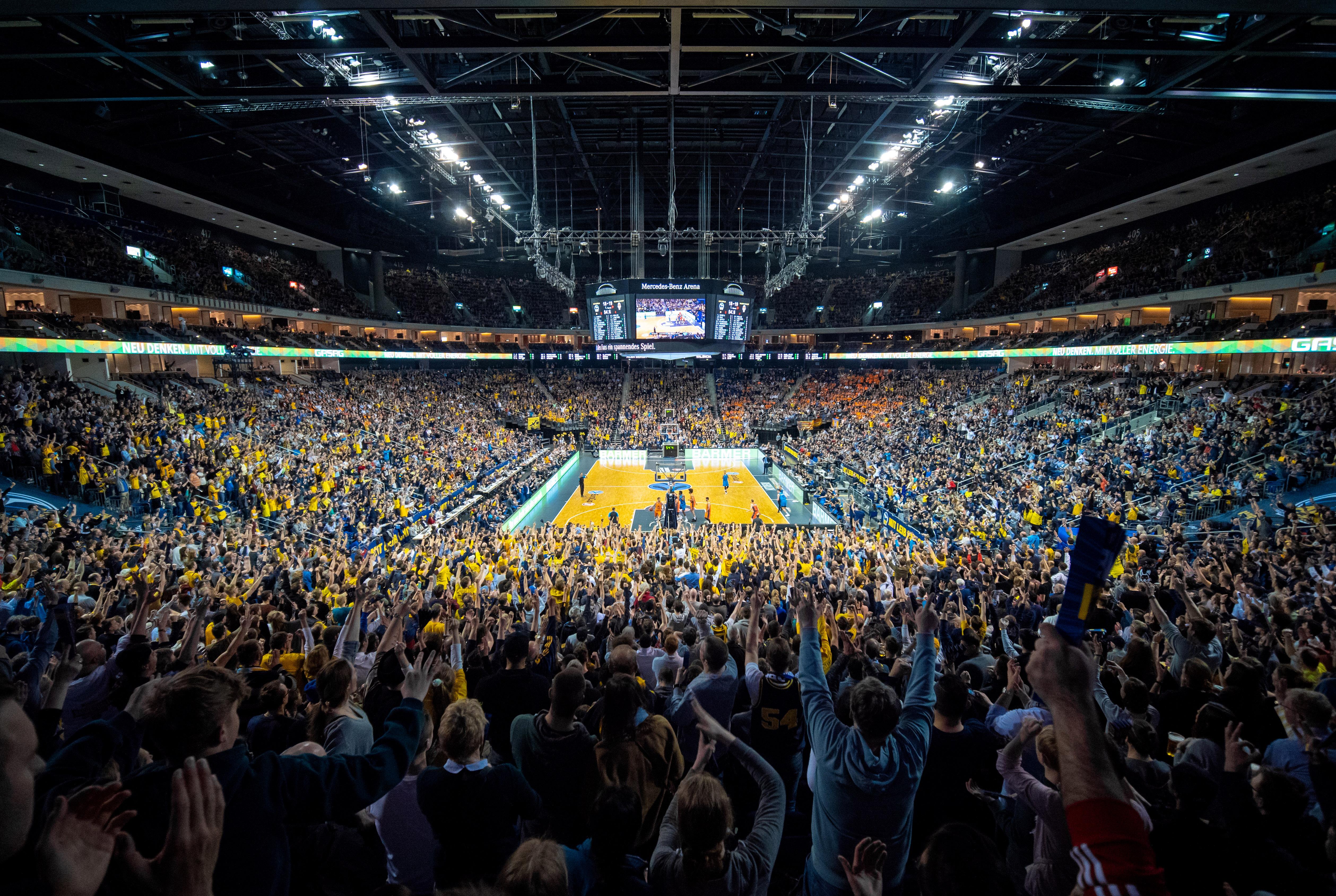 Alba Berlin's arena