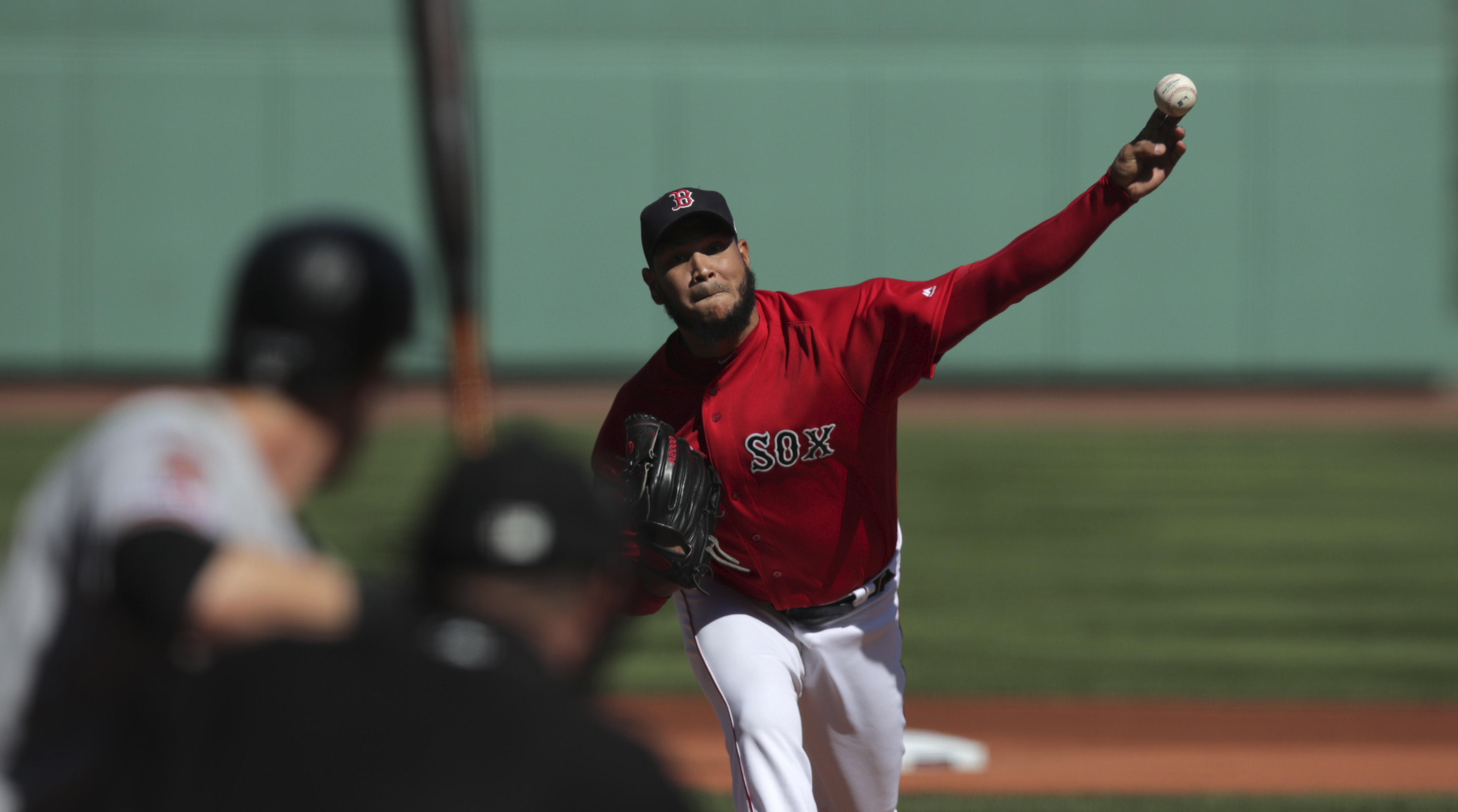 Boston Red Sox's Eduardo Rodriguez set goal to throw 200 innings; that should mean more than 20 wins I Christopher Smith