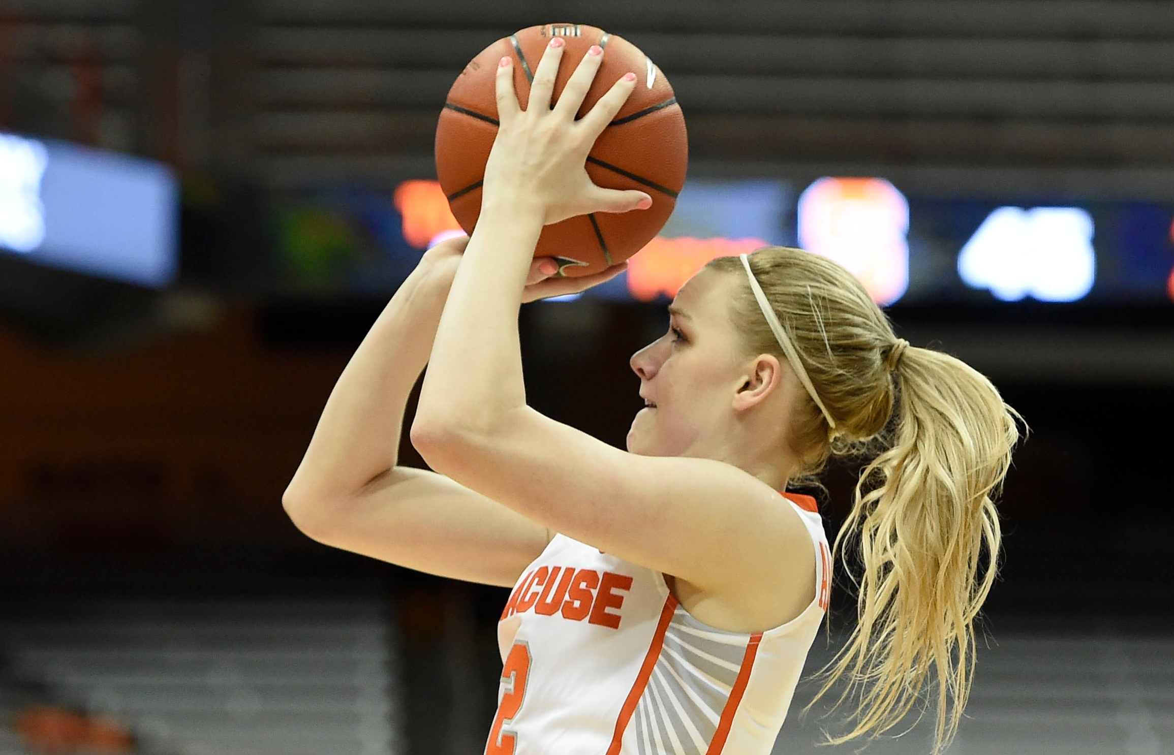 Newest 3-threat for Syracuse women's basketball just warming up