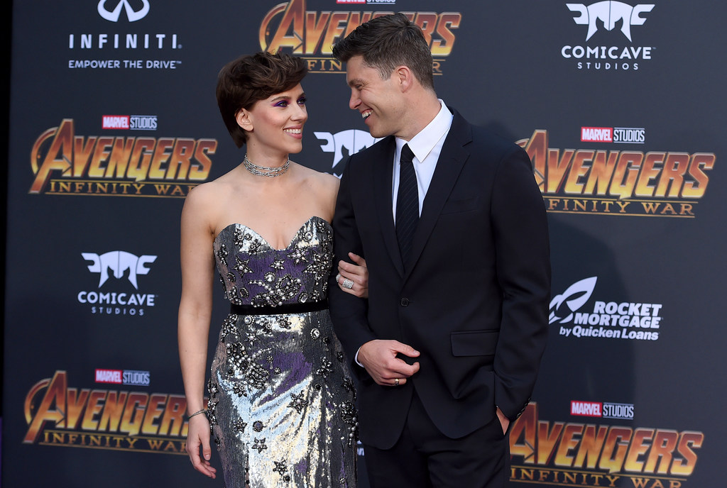 An A List Love Story How Colin Jost And Scarlett Johansson Got Together Silive Com