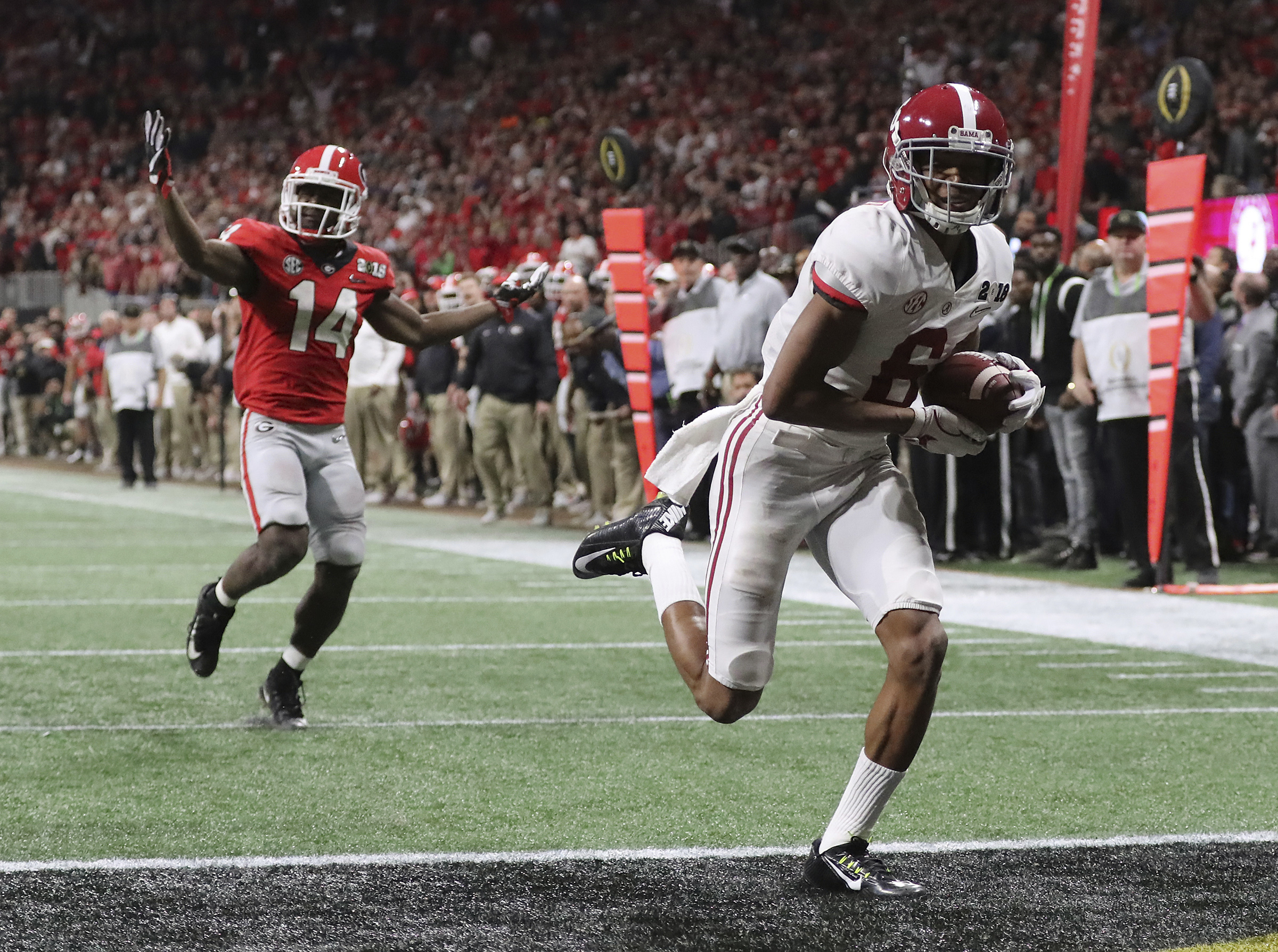 Why Alabama WR DeVonta Smith Is Not Eager To Talk About