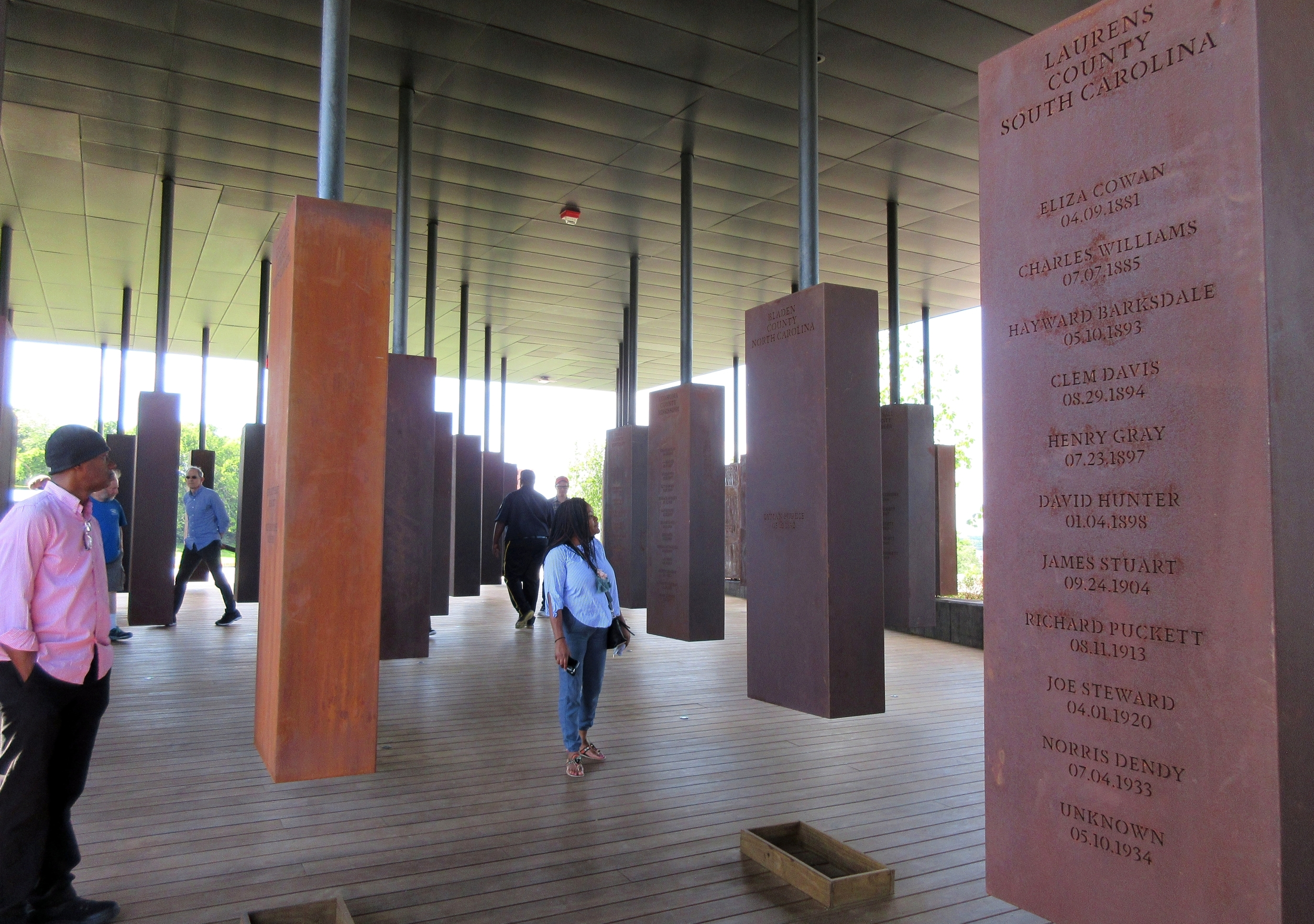 Alabama lynching memorial wins tourism's Attraction of the Year award