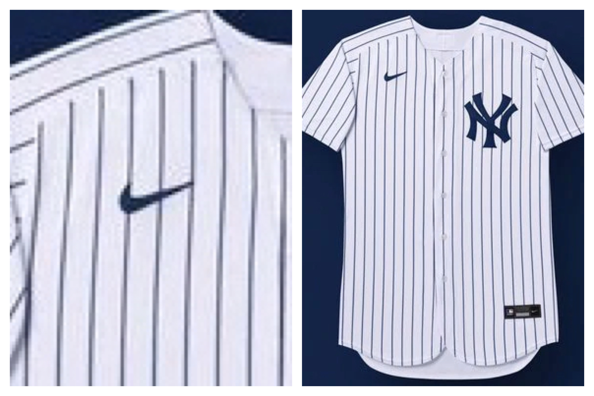 Sacrilege\u0027 Yankees fans rip new Nike logo on jerseys , nj.com