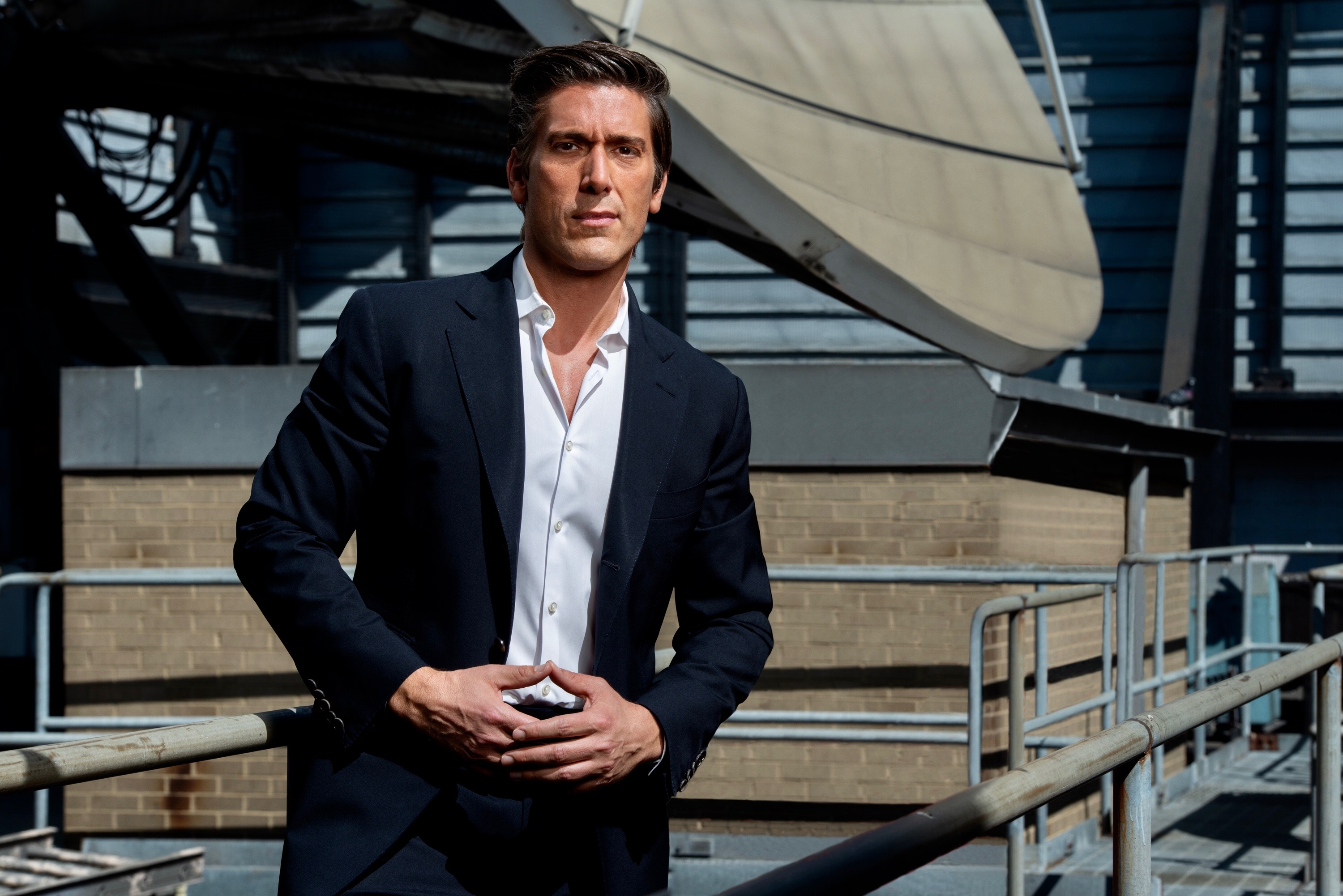 David Muir is most-watched news anchor for 3rd year in a row