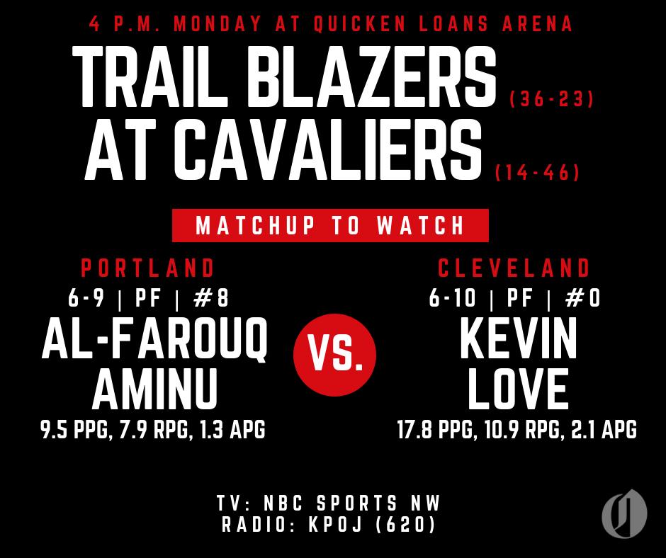 Portland Trail Blazers Live Stream: Portland Trail Blazers Vs. Cleveland Cavaliers: Game