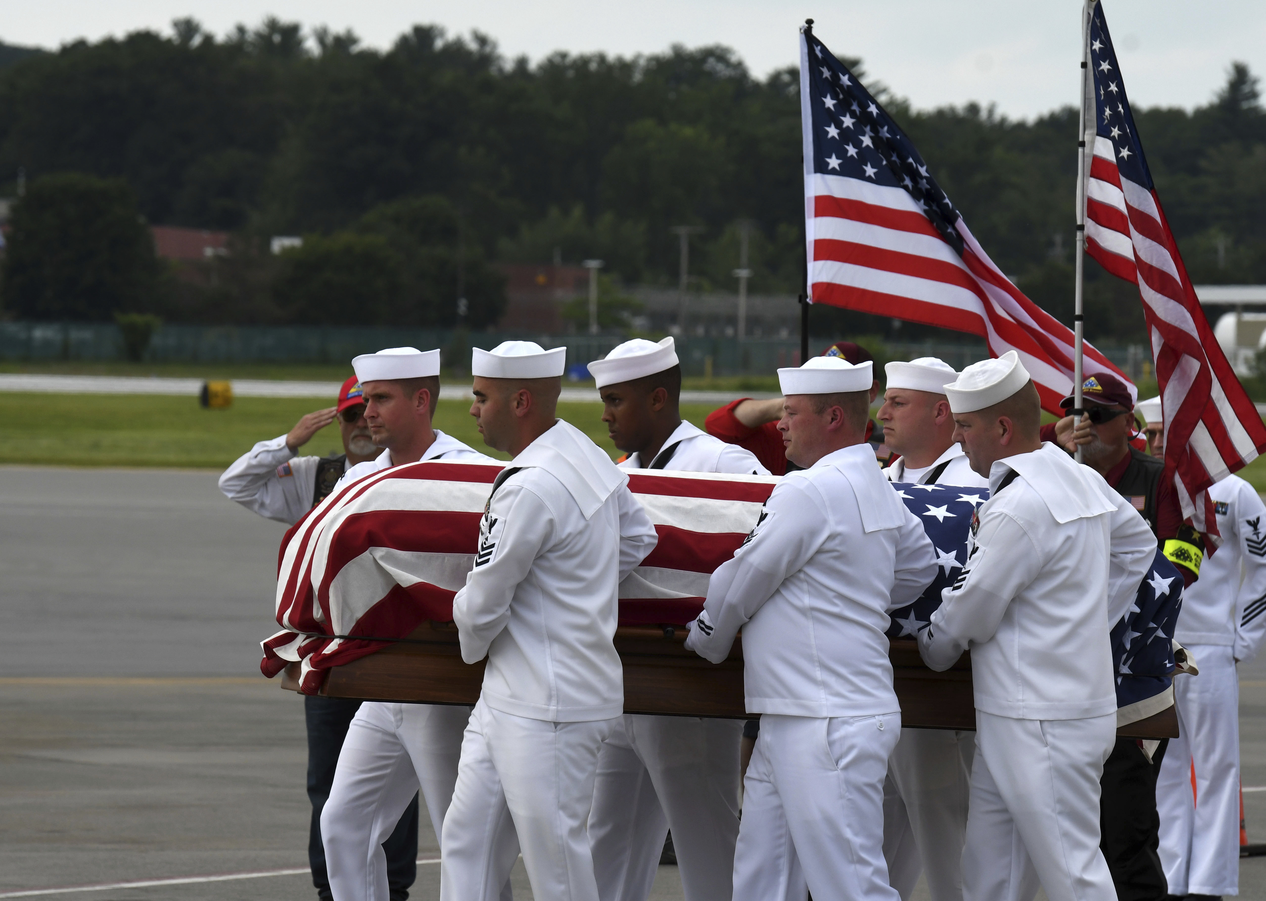 Remains of Upstate NY sailor killed in Pearl Harbor attack come home