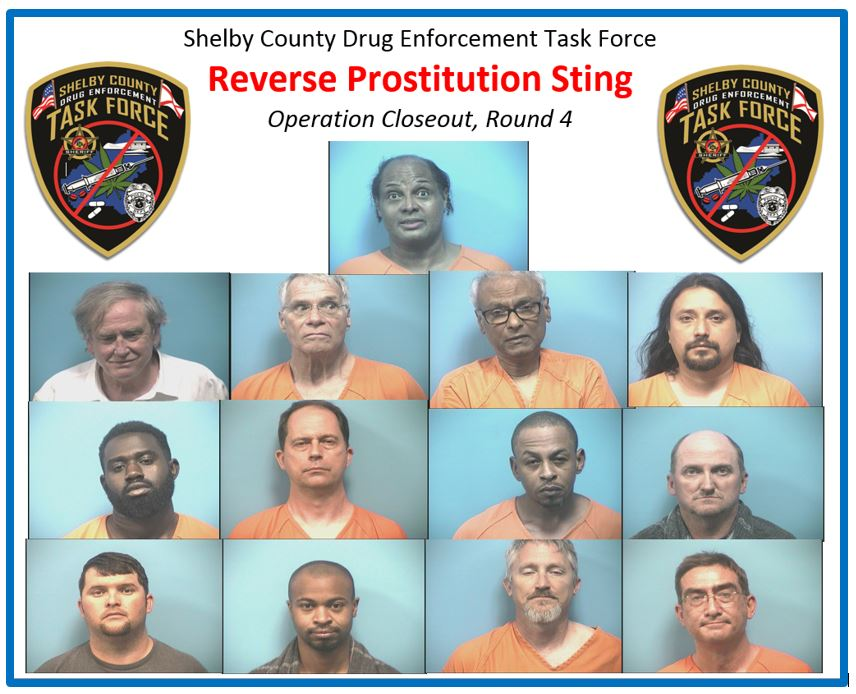 13 men arrested in Shelby County reverse prostitution sting - al com