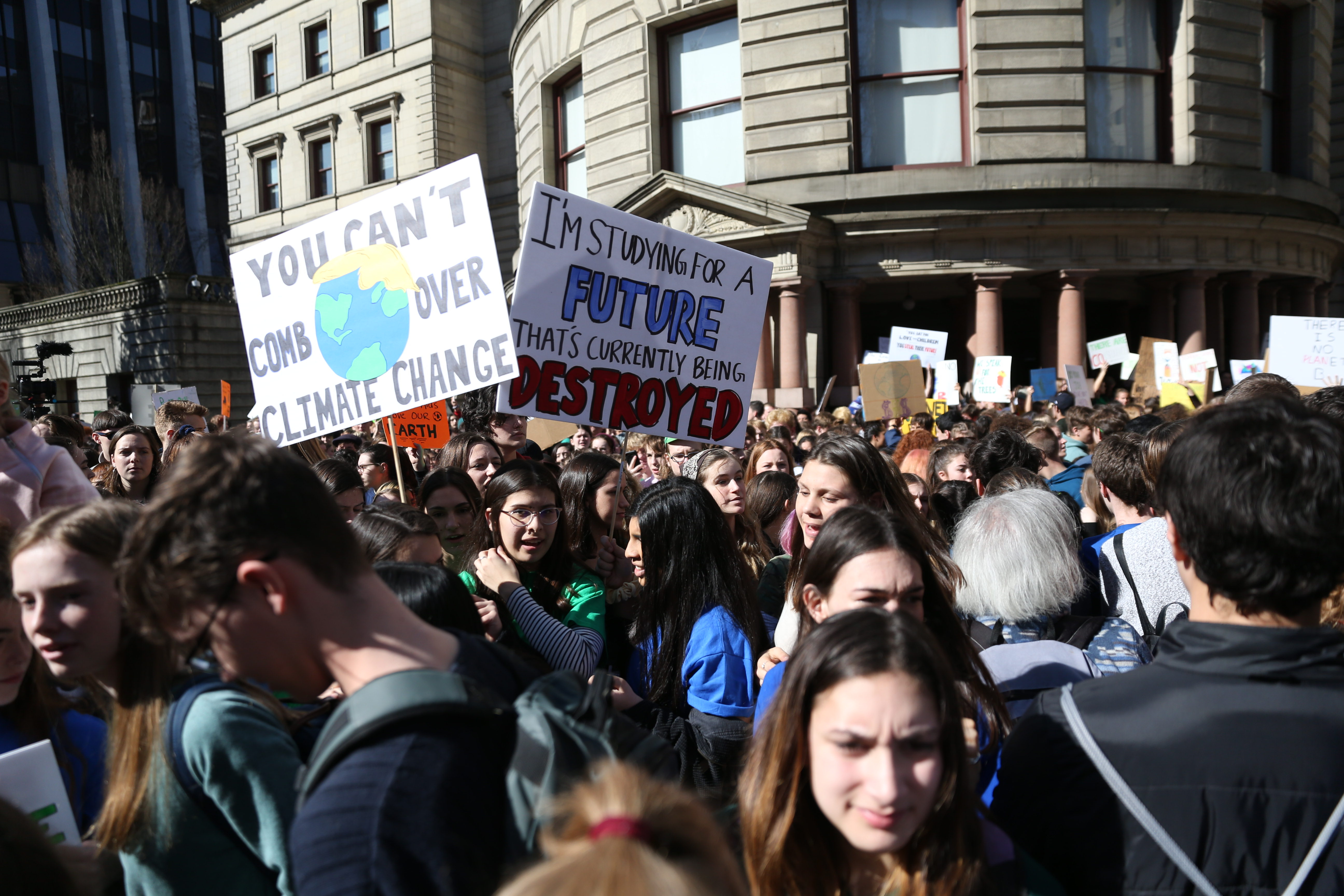 Most Portland-area school districts will excuse students for Friday's climate walkout
