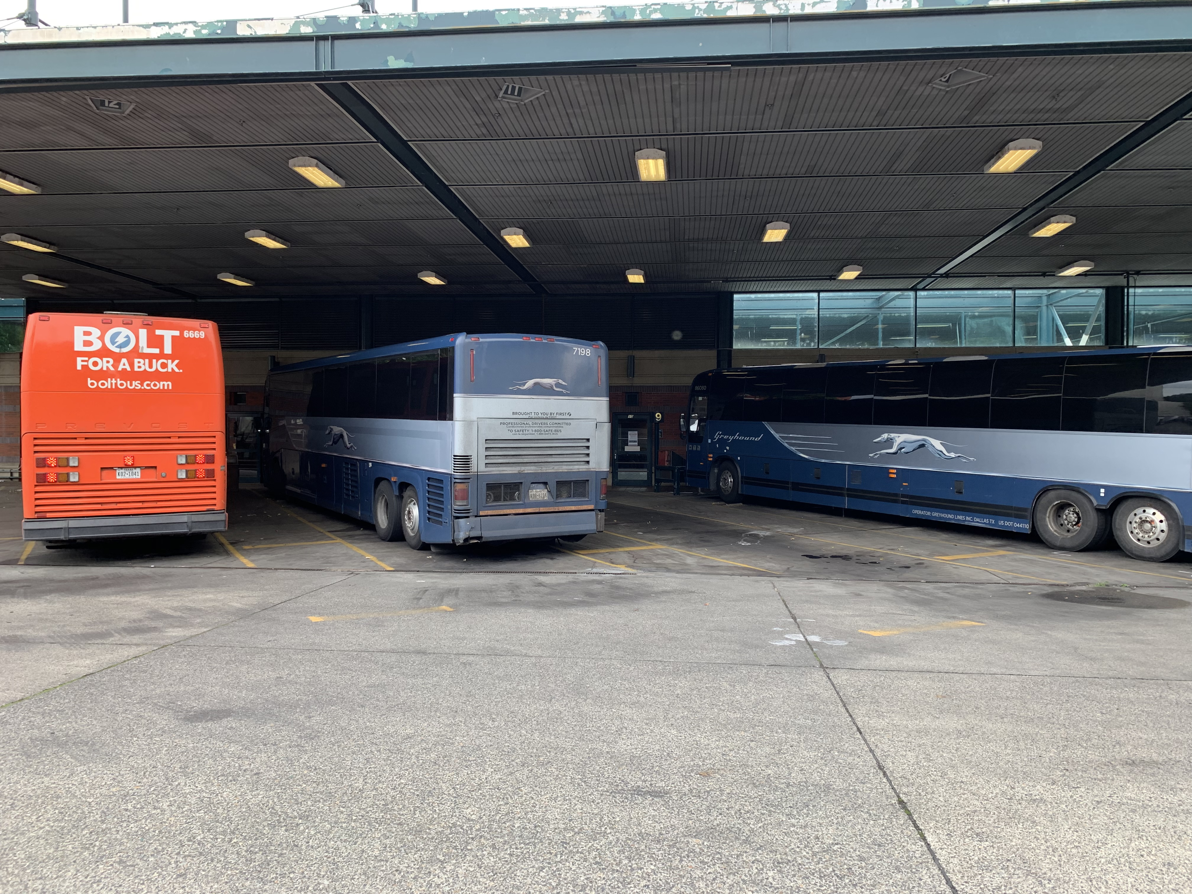 Portland Greyhound station moves out