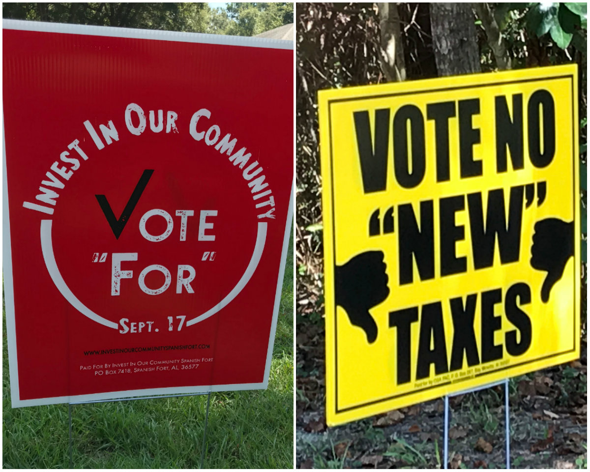 Will Fairhope, Spanish Fort voters support property tax ...