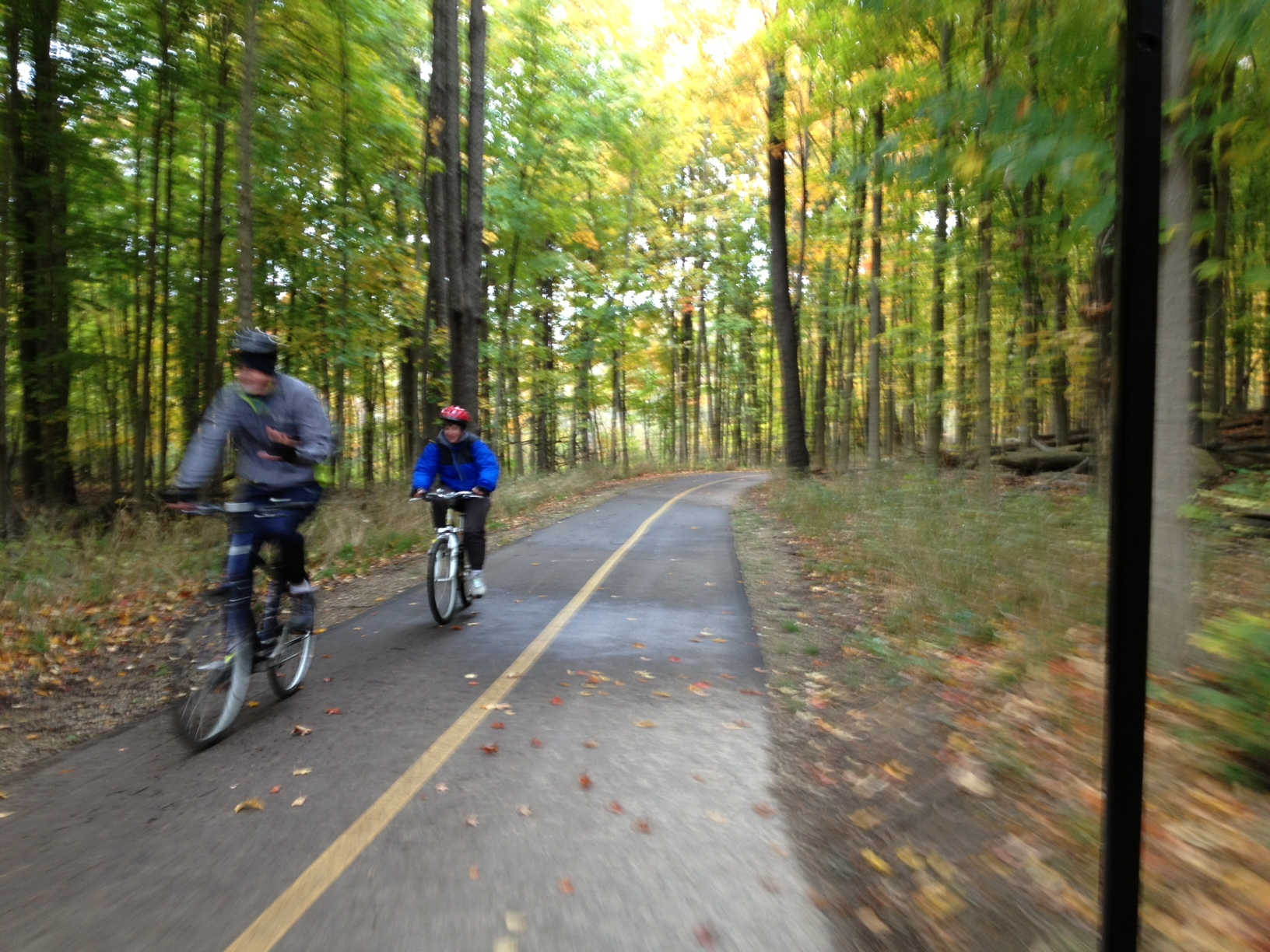 275-mile trail linking Lake Michigan, Lake Huron will open with inaugural ride
