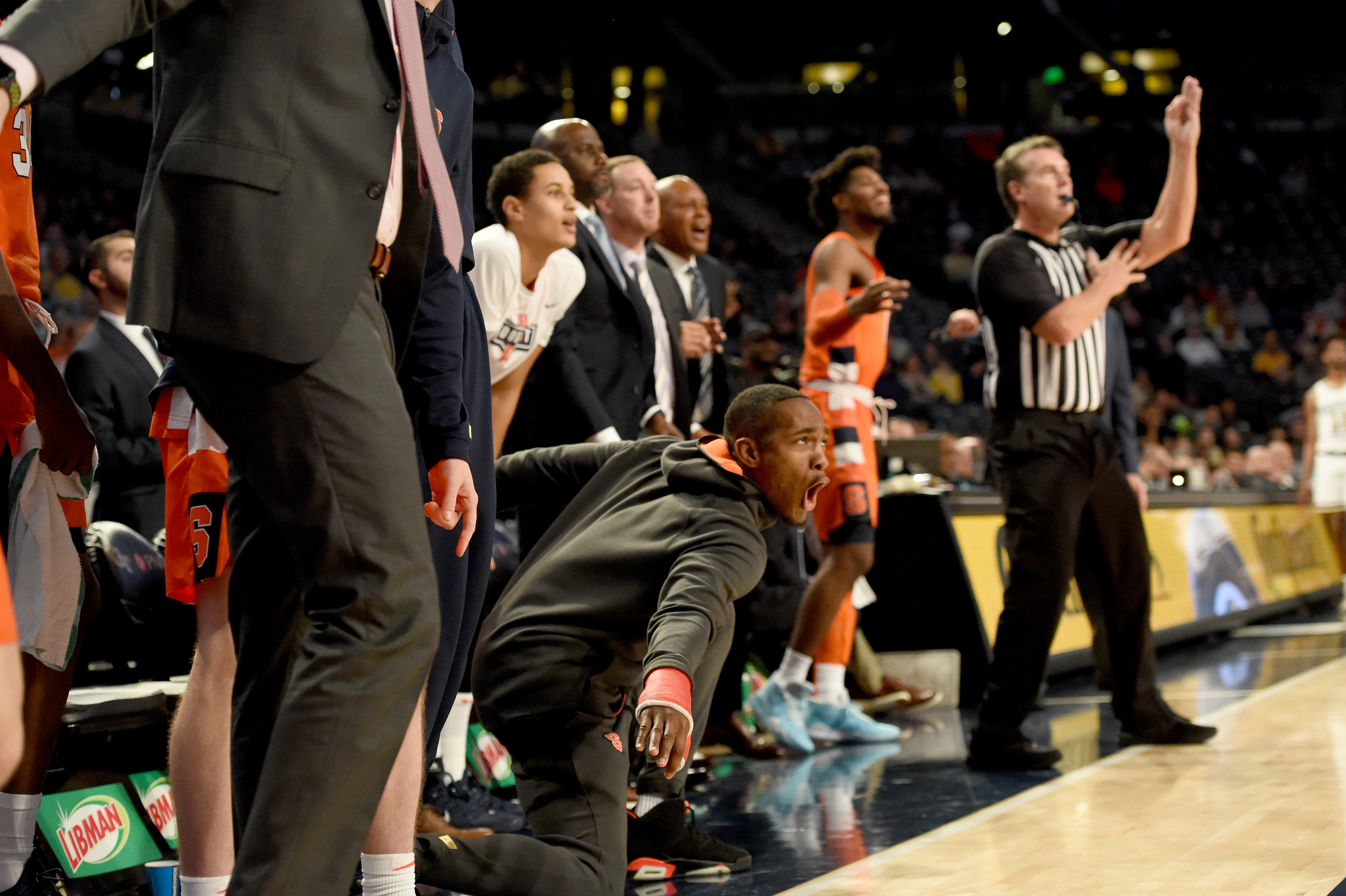 After loss to Iowa, Syracuse players vowed to 'hold each other accountable' and have some fun