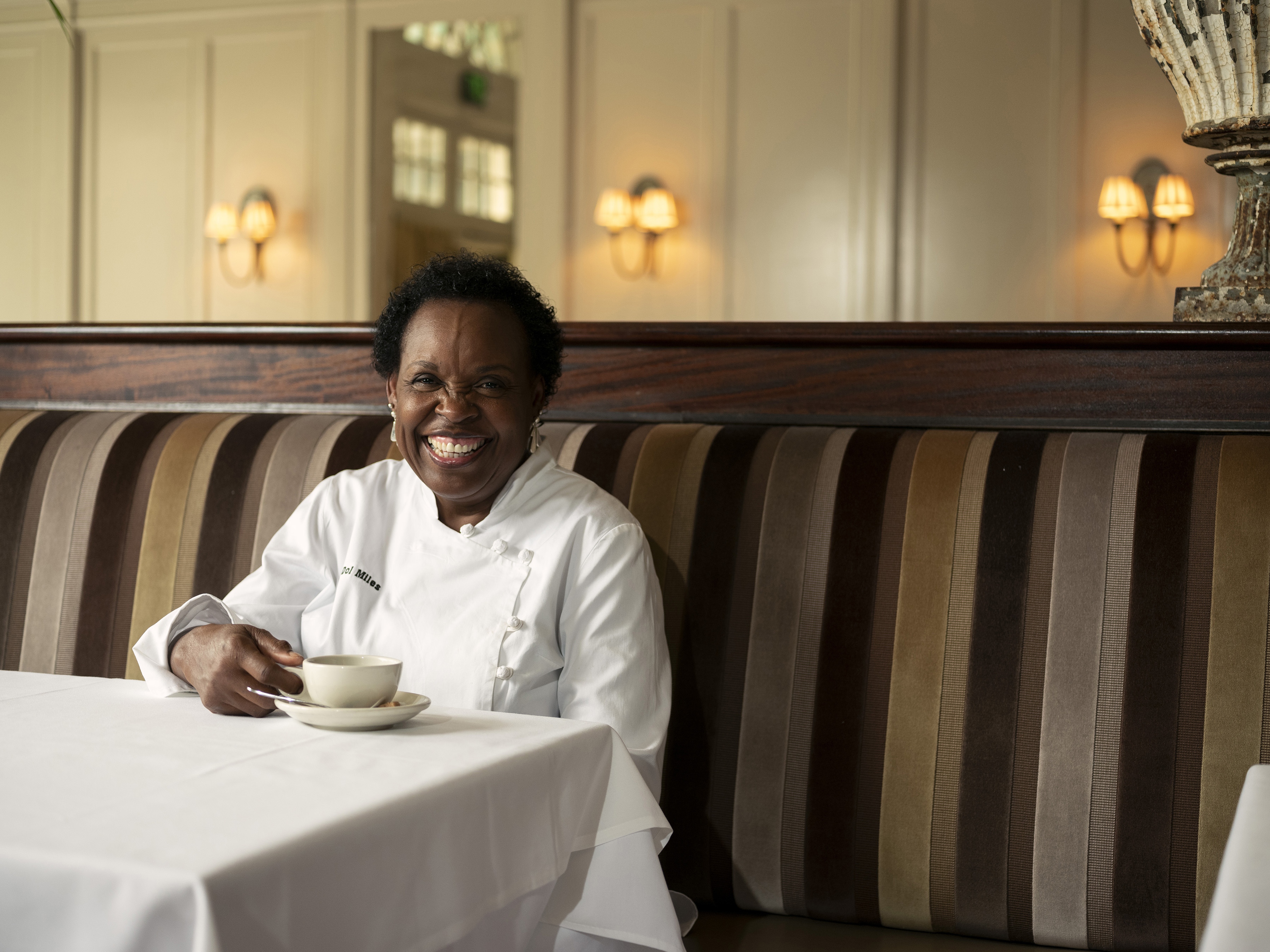 Dolester Miles of Birmingham, Ala., won a James Beard Award for being the country's best pastry chef in 2018. MUST CREDIT: Photo for The Washington Post by Rob Culpepper