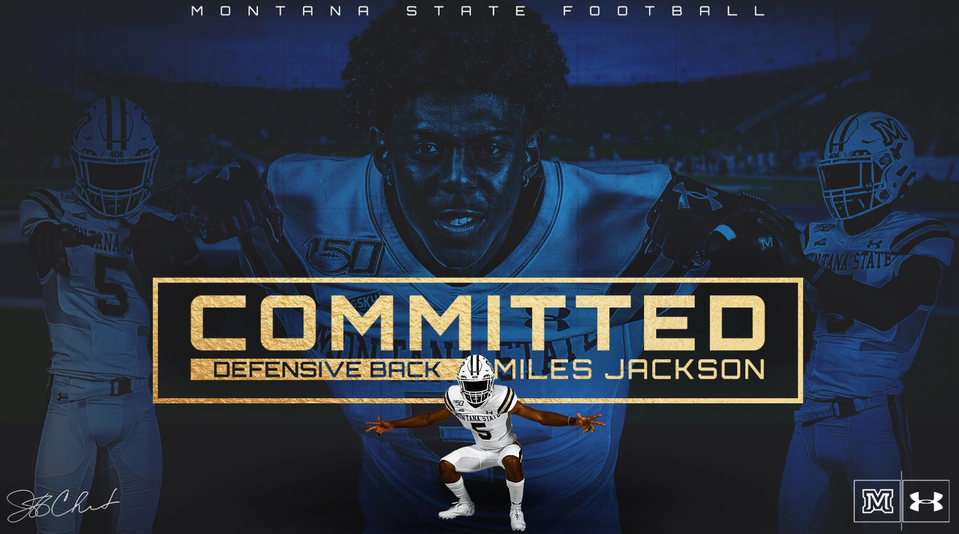 Miles Jackson, Central Catholic 3-star cornerback, commits to Montana State Bobcats