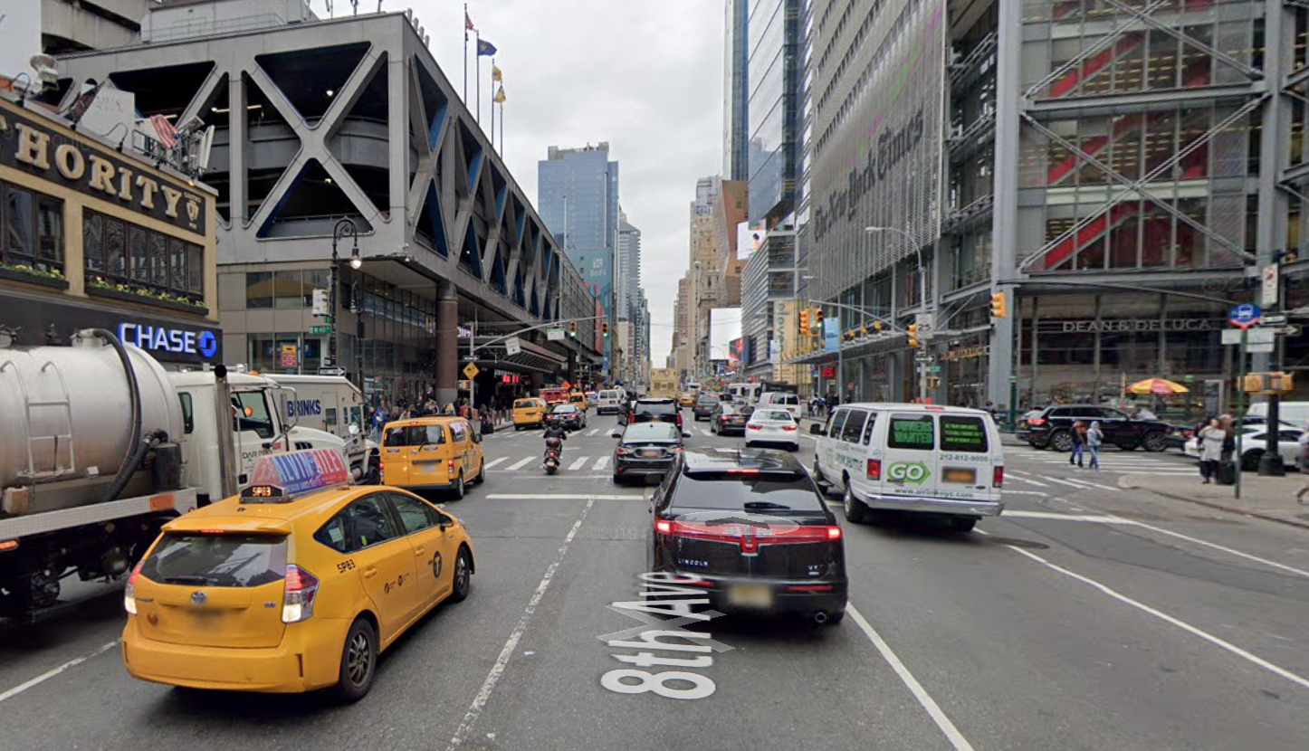 Report: Man run over, dies after falling near Times Square