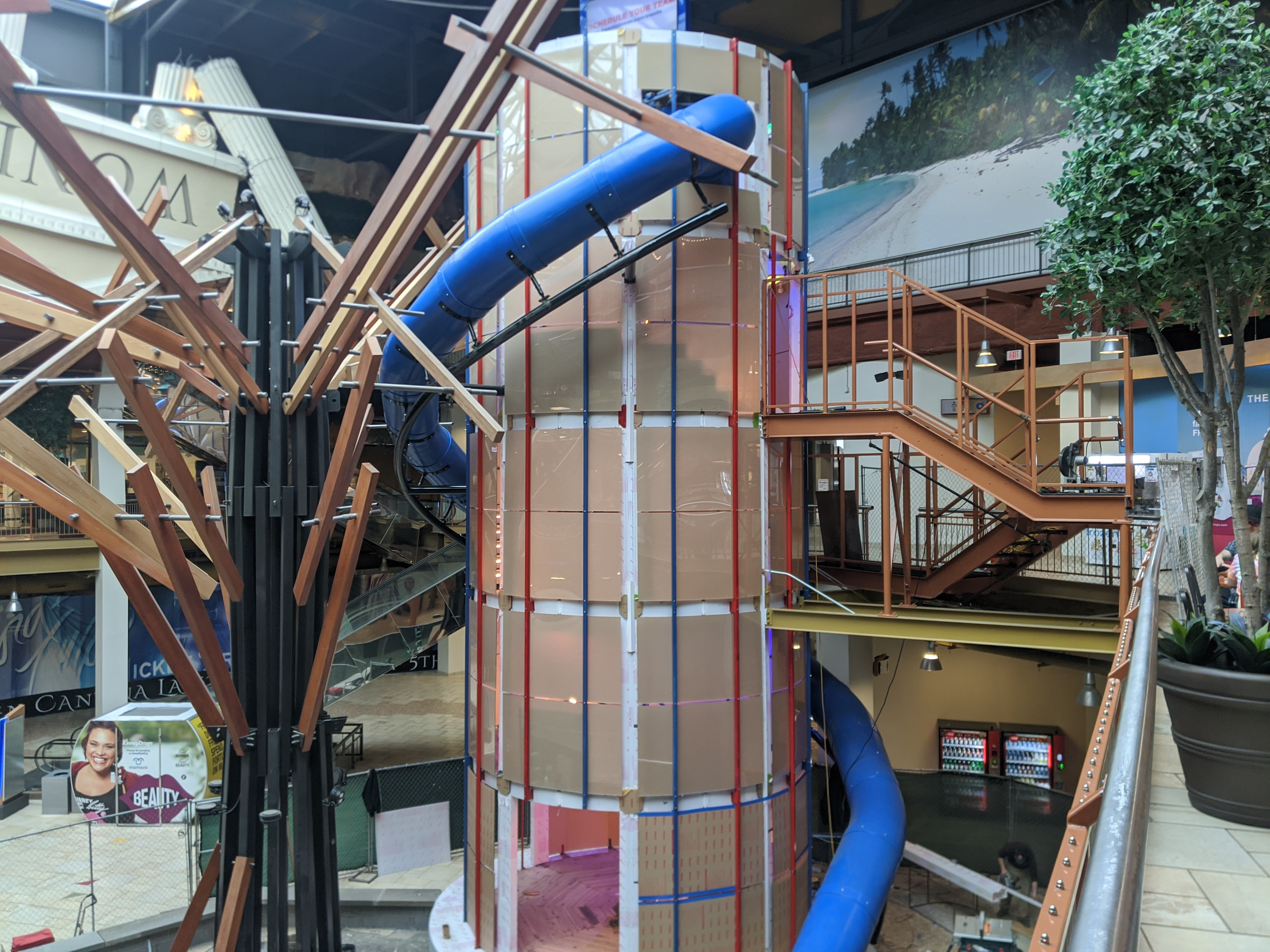 Trombi's Tower vertical obstacle course to open next week at Destiny USA