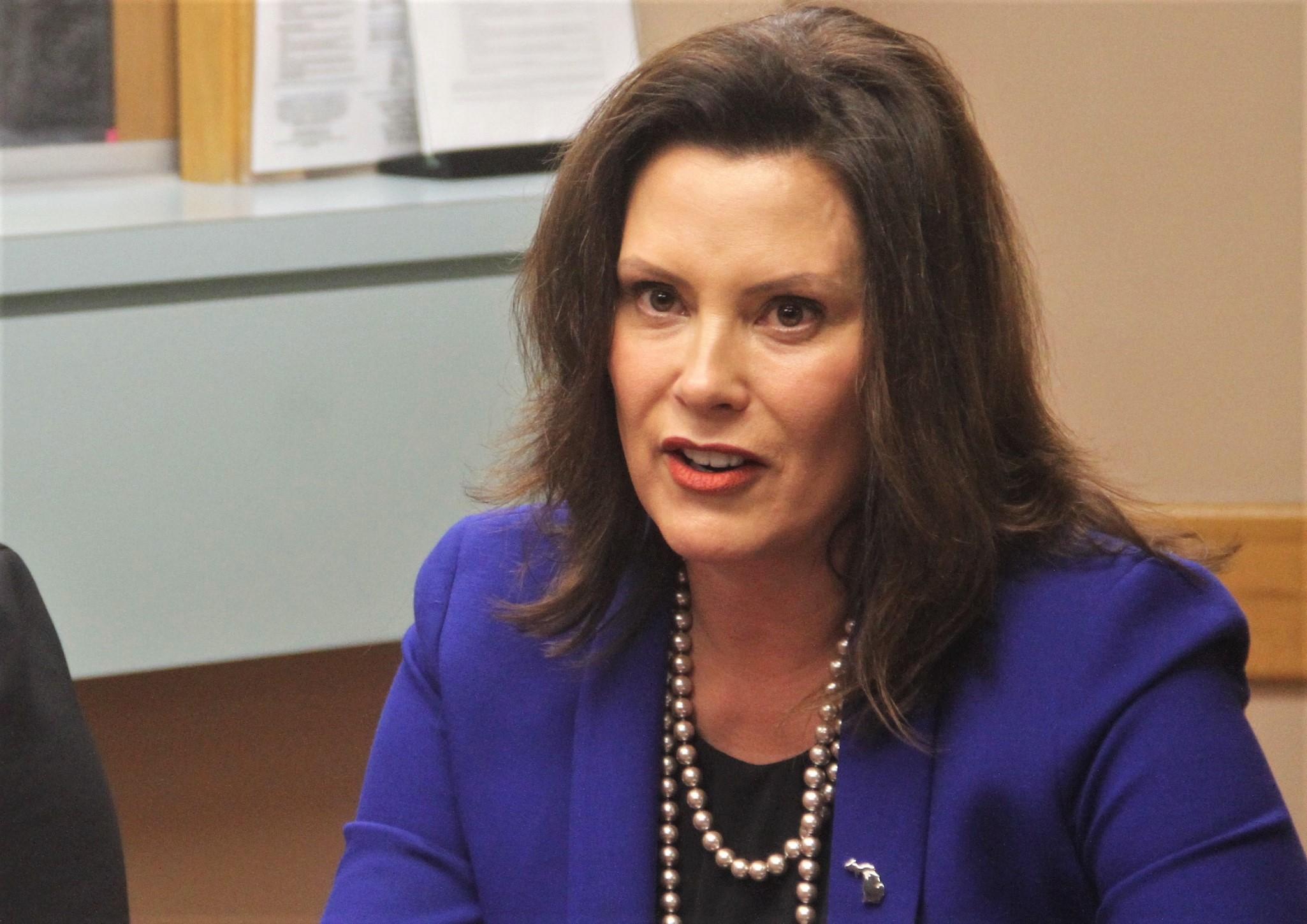 Gov. Whitmer asks legislature to halt Medicaid work requirements