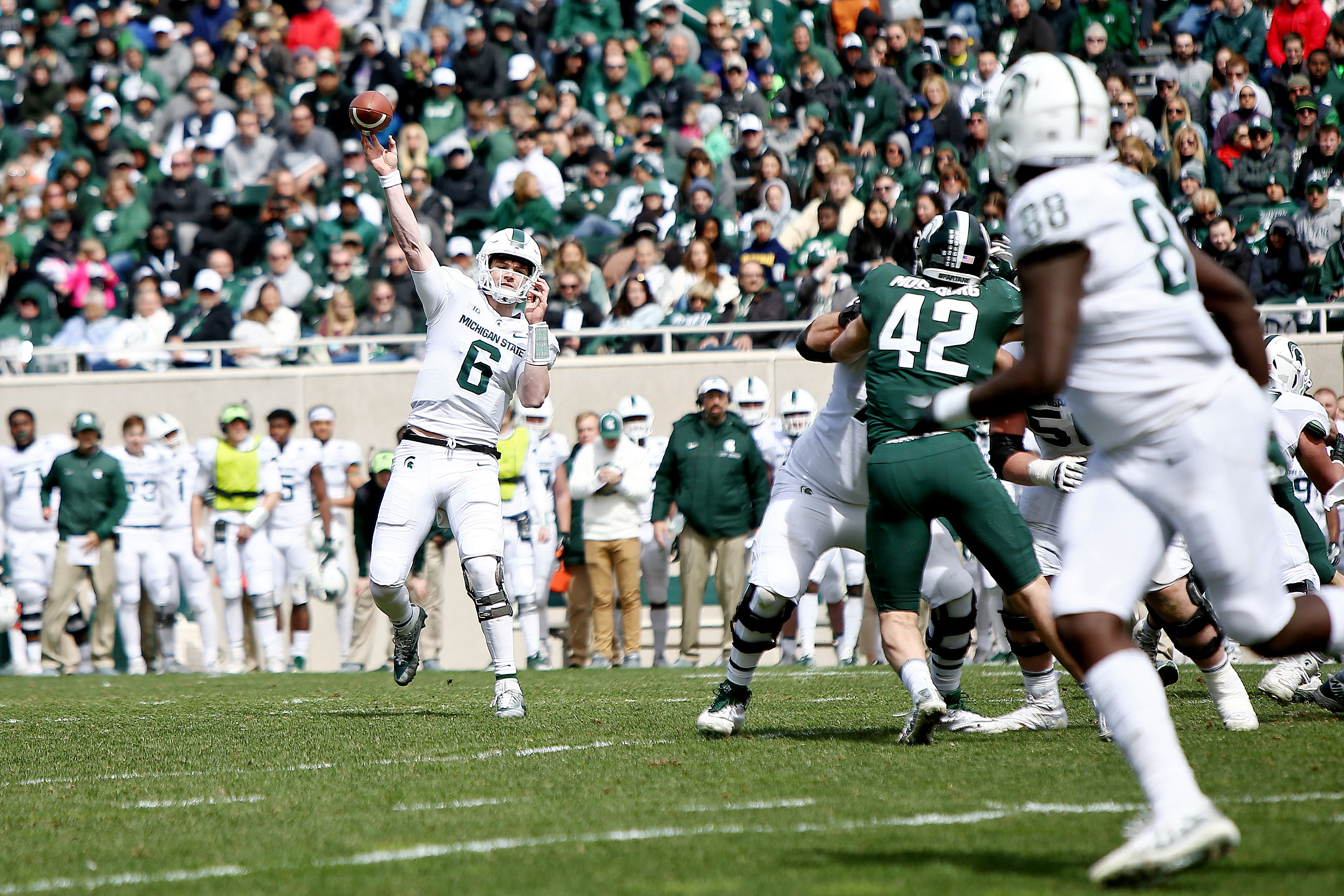 Michigan State Qb Theo Day Looking Forward To Competing For