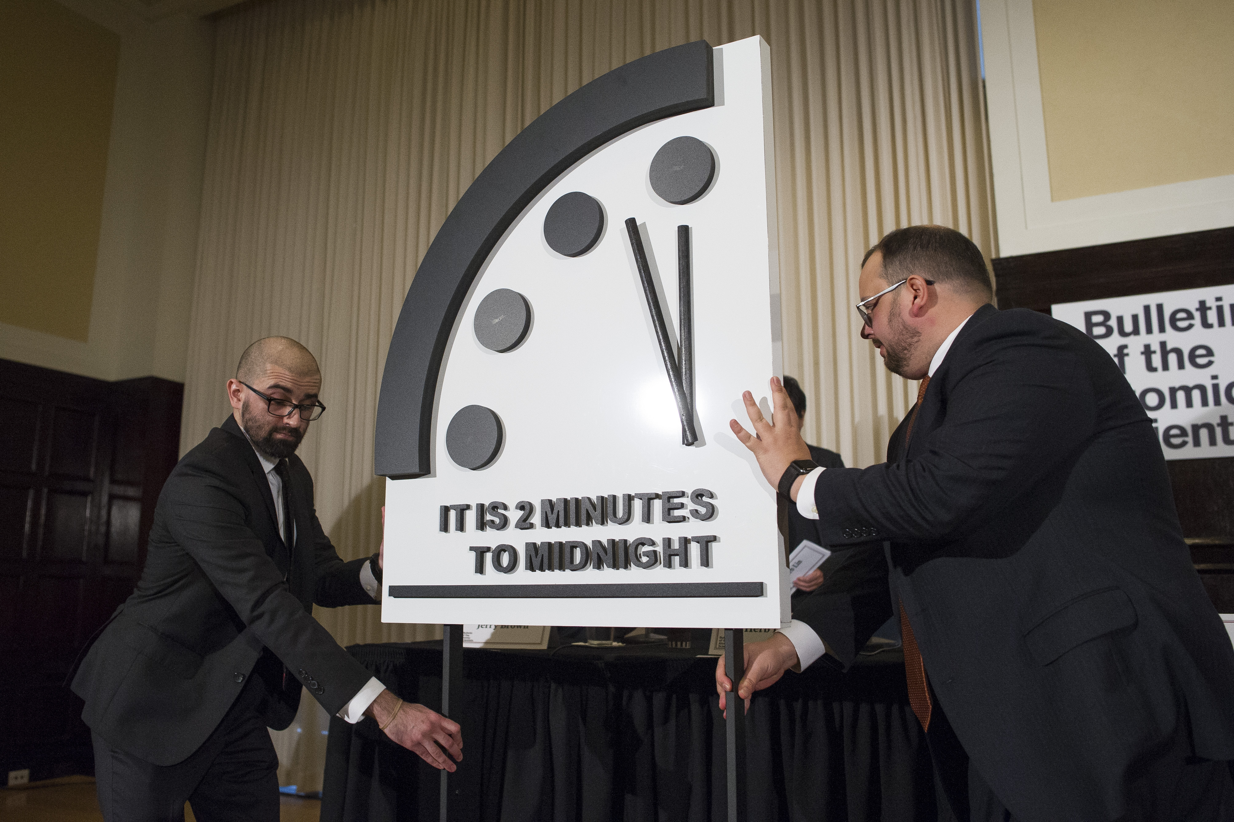 Doomsday Clock Creeps Closer To Midnight Than It Ever Has In History Pennlive Com