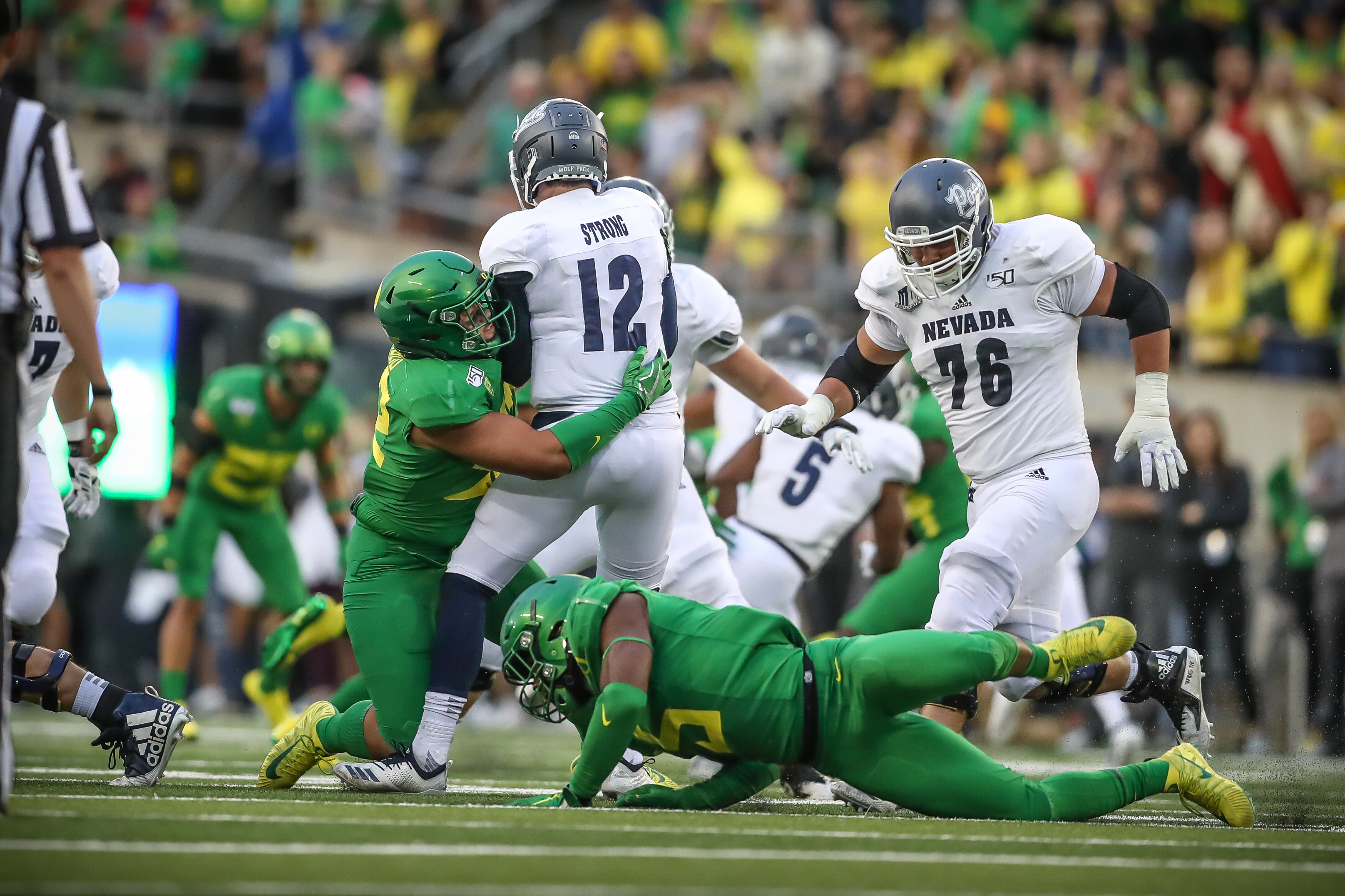 Rewinding No  16 Oregon Ducks 77-6 rout of Nevada Wolf Pack