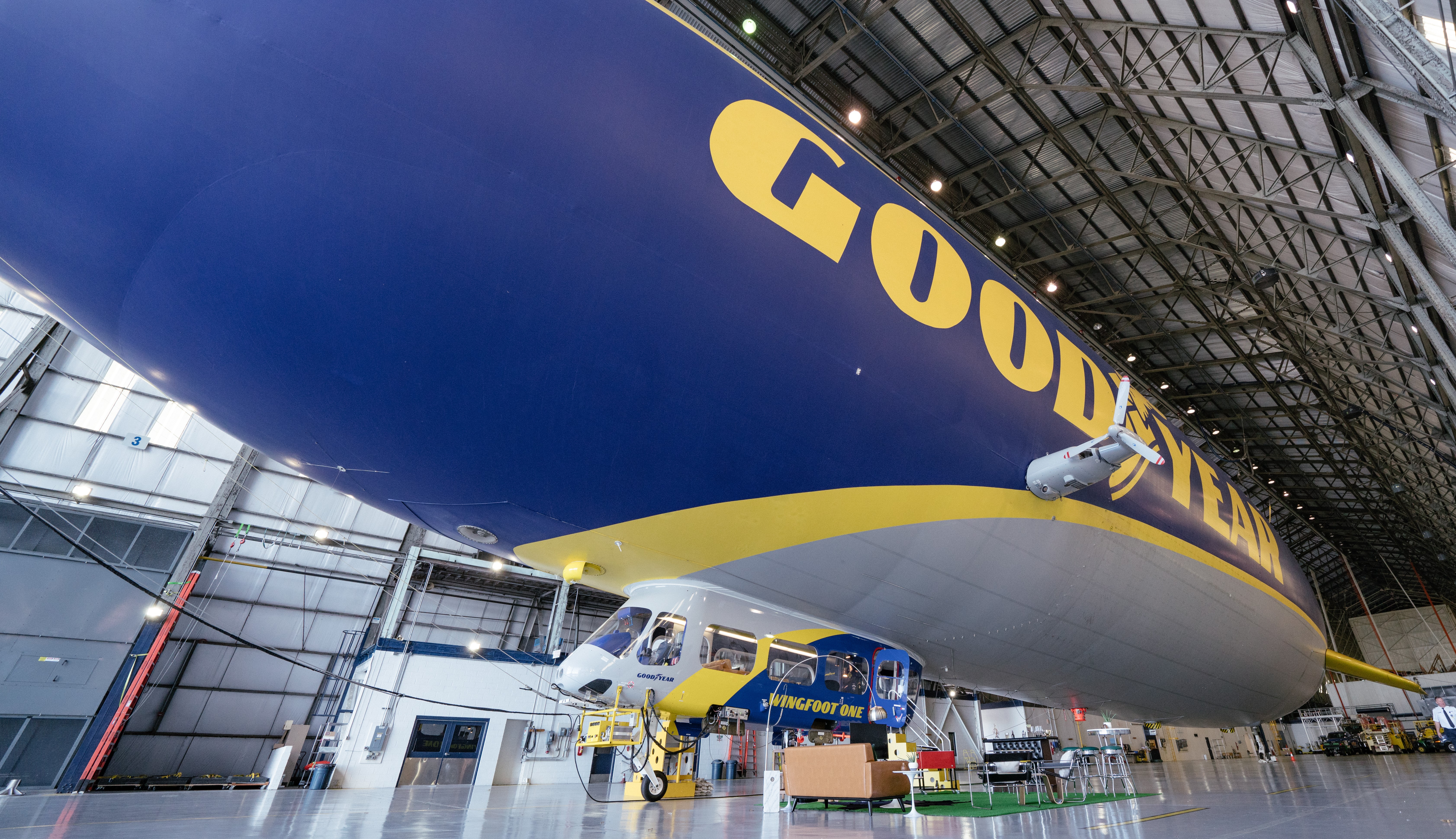 Goodyear Blimp listed for overnight stays on Airbnb