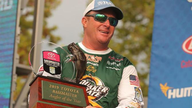 Alabama angler wins $100,000 Bassmaster Elite Angler of the Year title