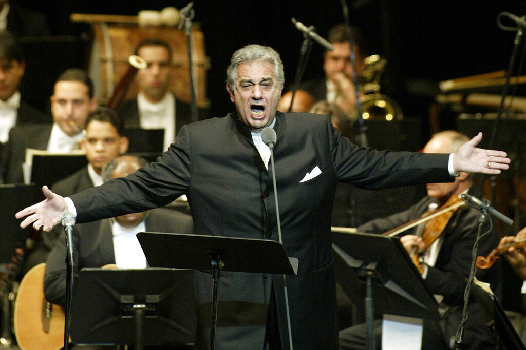 Placido Domingo resigns in wake of sexual misconduct allegations