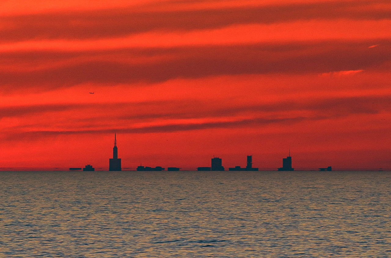 Michigan Photographer Captures Breathtaking Image Of Chicago Skyline 50 Miles Away Mlive Com