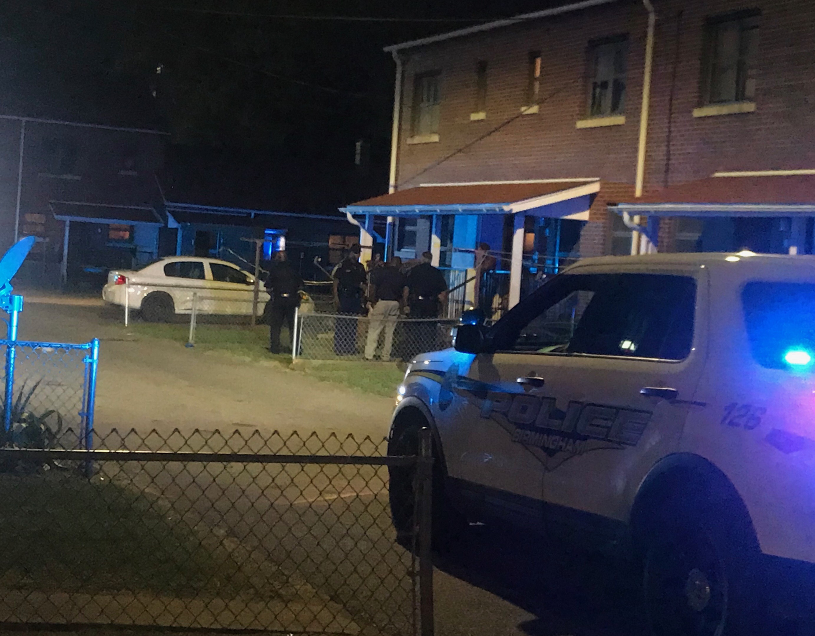 A man was critically wounded in a shooting Sunday evening, Oct. 14, 2018, in Birmingham's Smithfield public housing community. He died early Monday, Oct. 14, 2018.