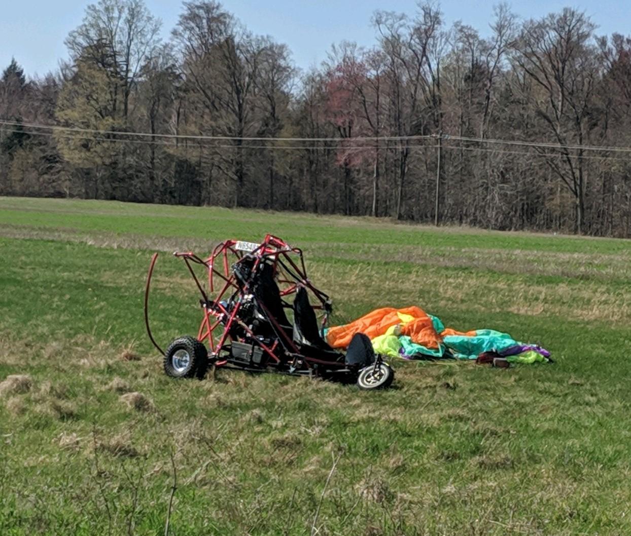 Man dies in powered parachute crash in Oceana County