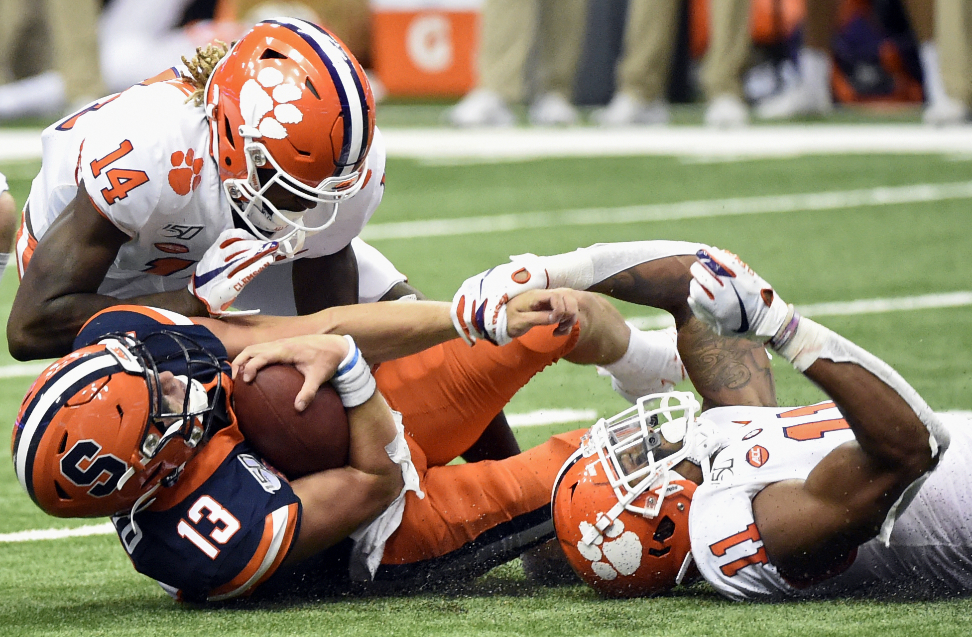 Syracuse football vs Clemson (2019)
