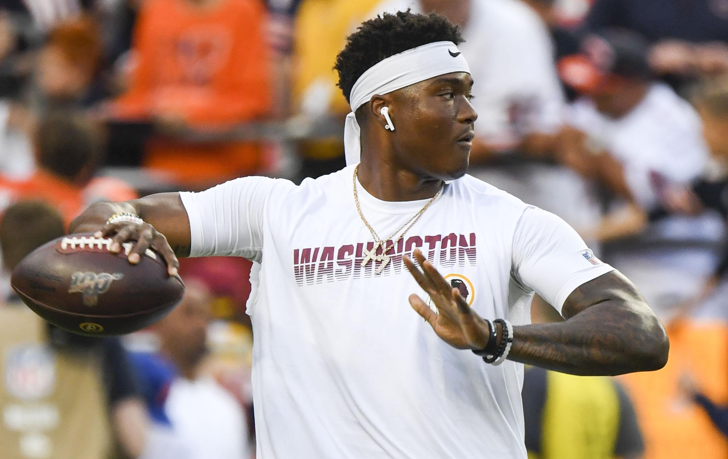 NFL rumors: Redskins' Dwayne Haskins finally making strides with Jay Gruden gone