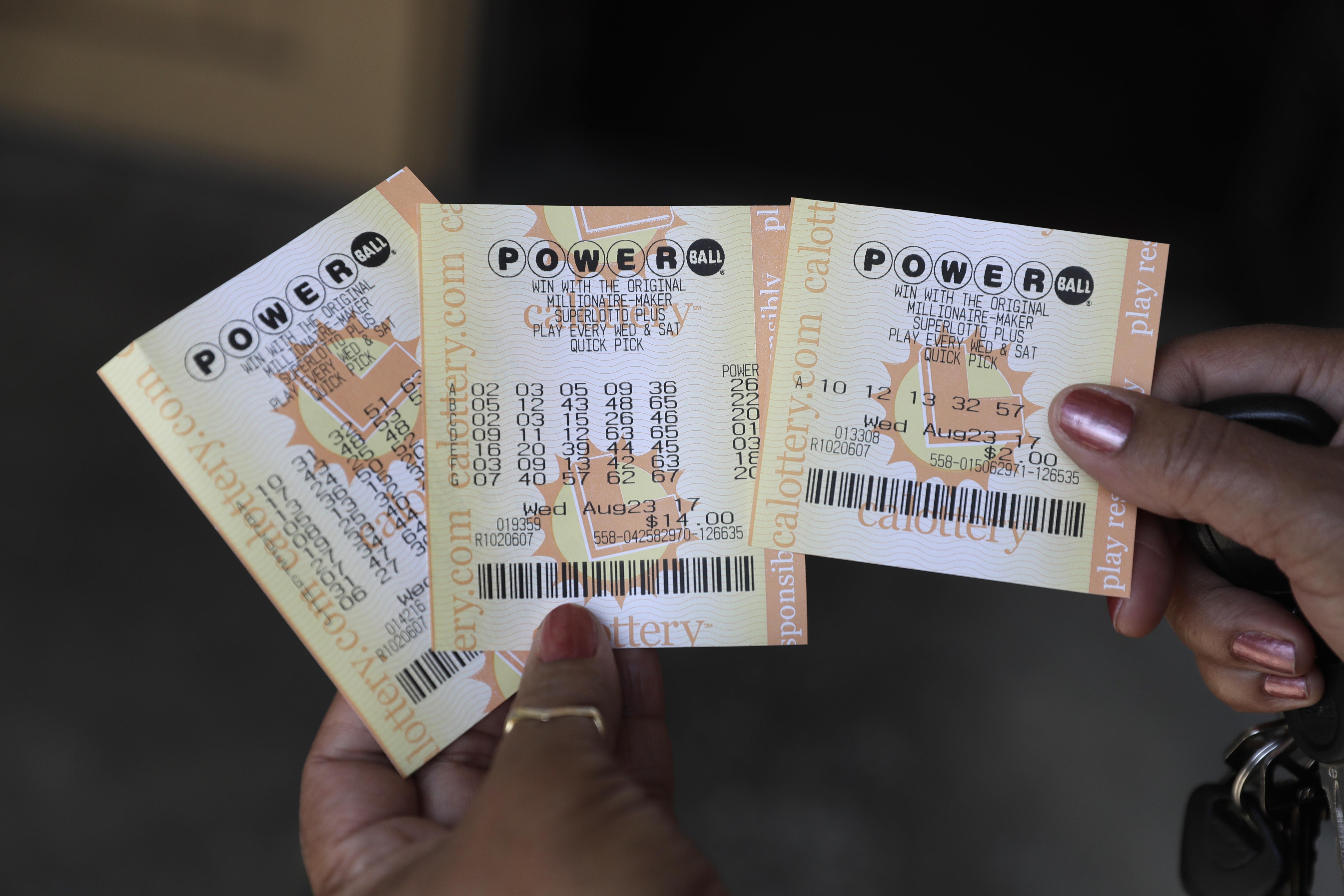 Biglietti del Powerball