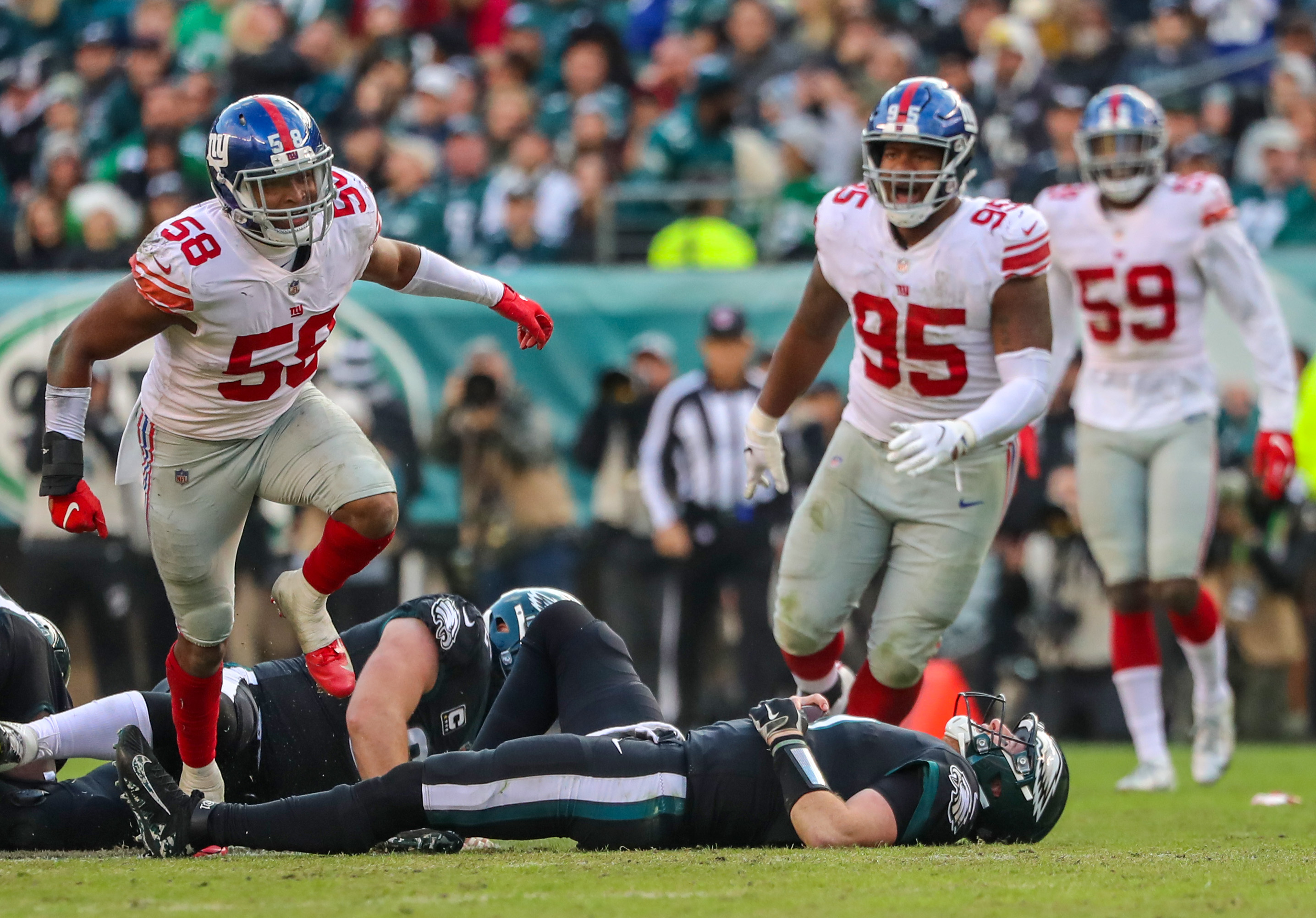 Giants' 2018 rookies could make or break defense after 2,000 snaps 'you can't buy'