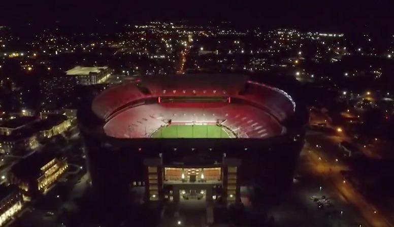 Alabama releases video of new Bryant-Denny Stadium light show