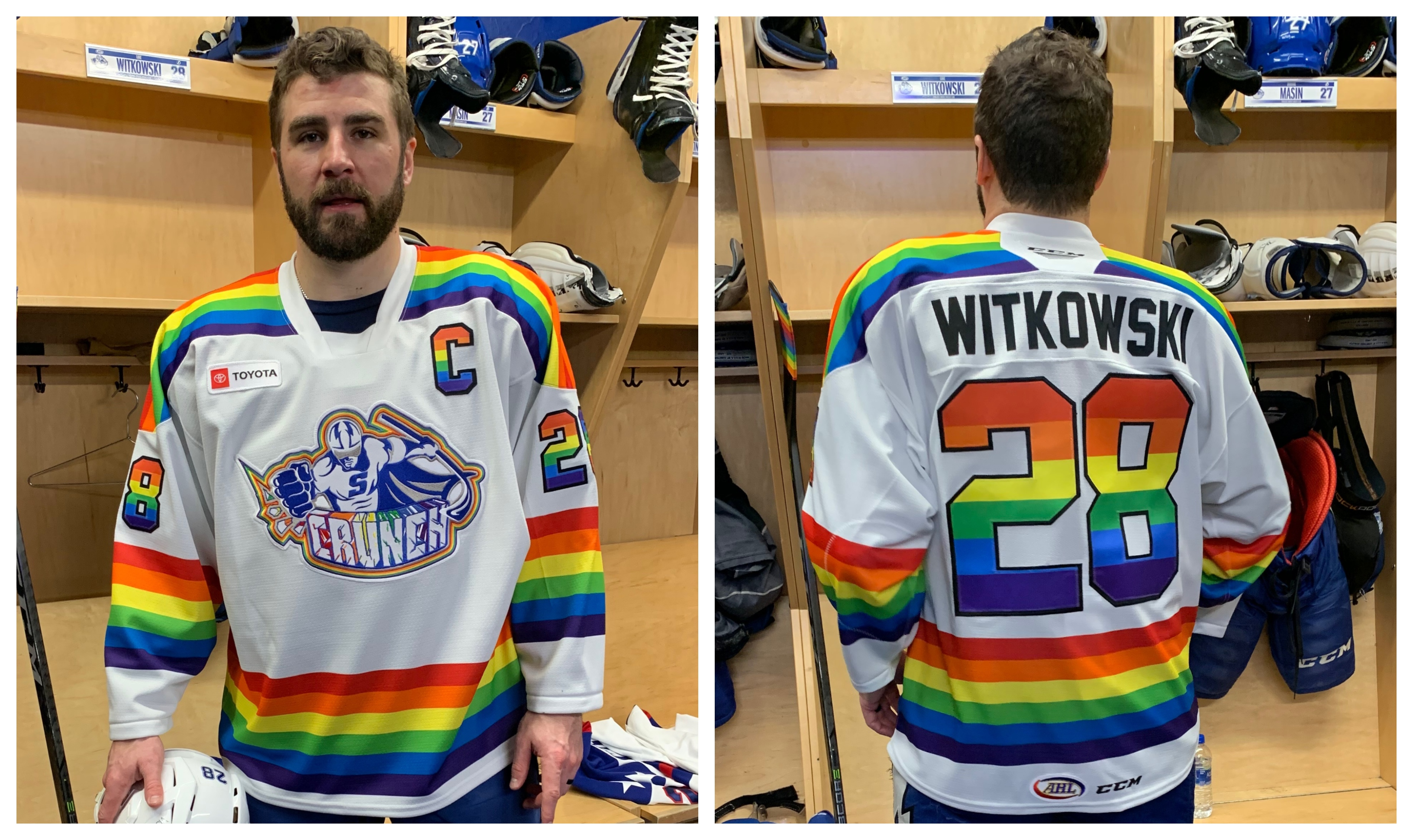 Syracuse Crunch owner Howard Dolgon on Pride Night jerseys: 'This team is living in 2020'