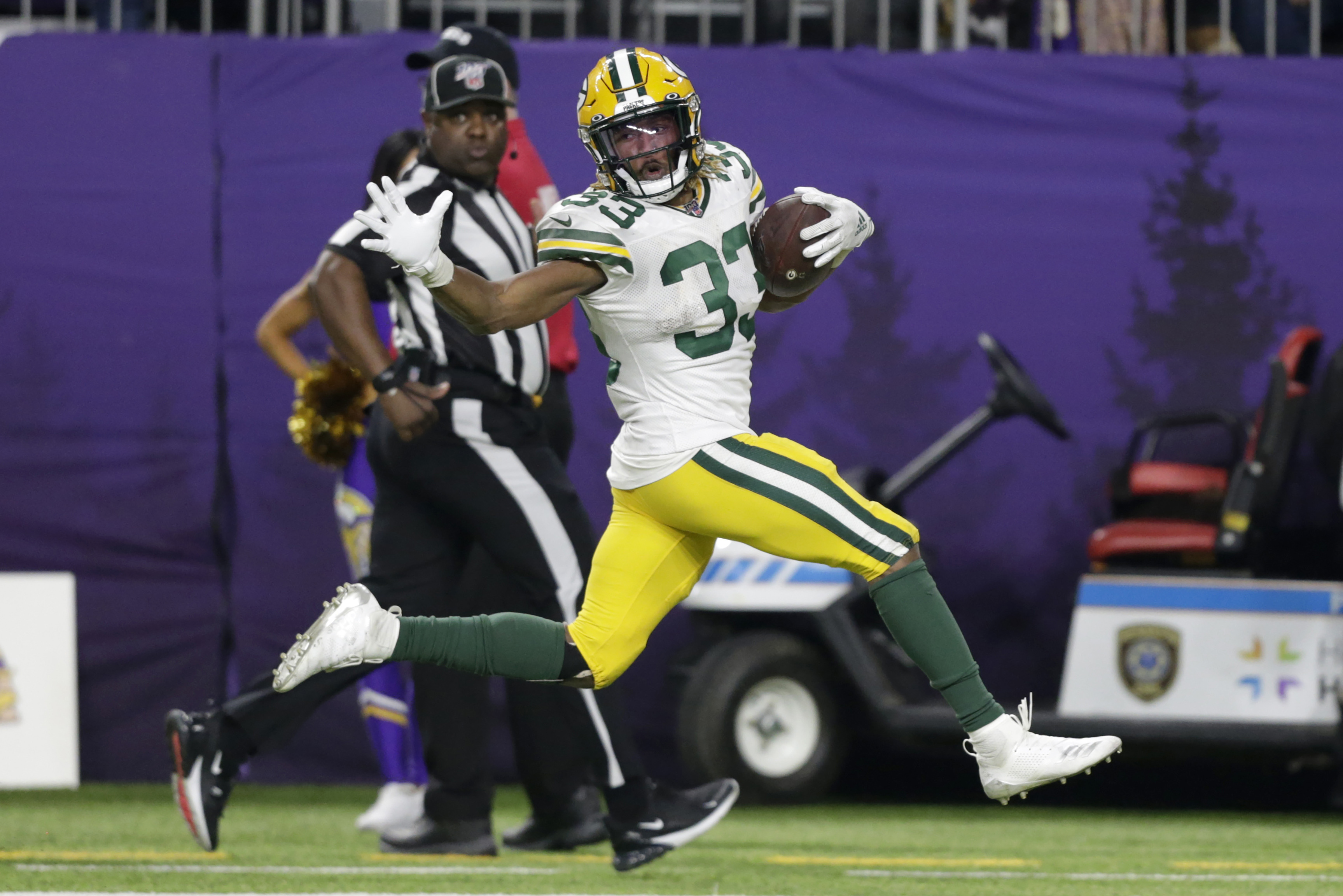 Green Bay Packers Clinch Nfc North After Win Against The Minnesota Vikings Monday Night Football Recap Score Stats And More Oregonlive Com