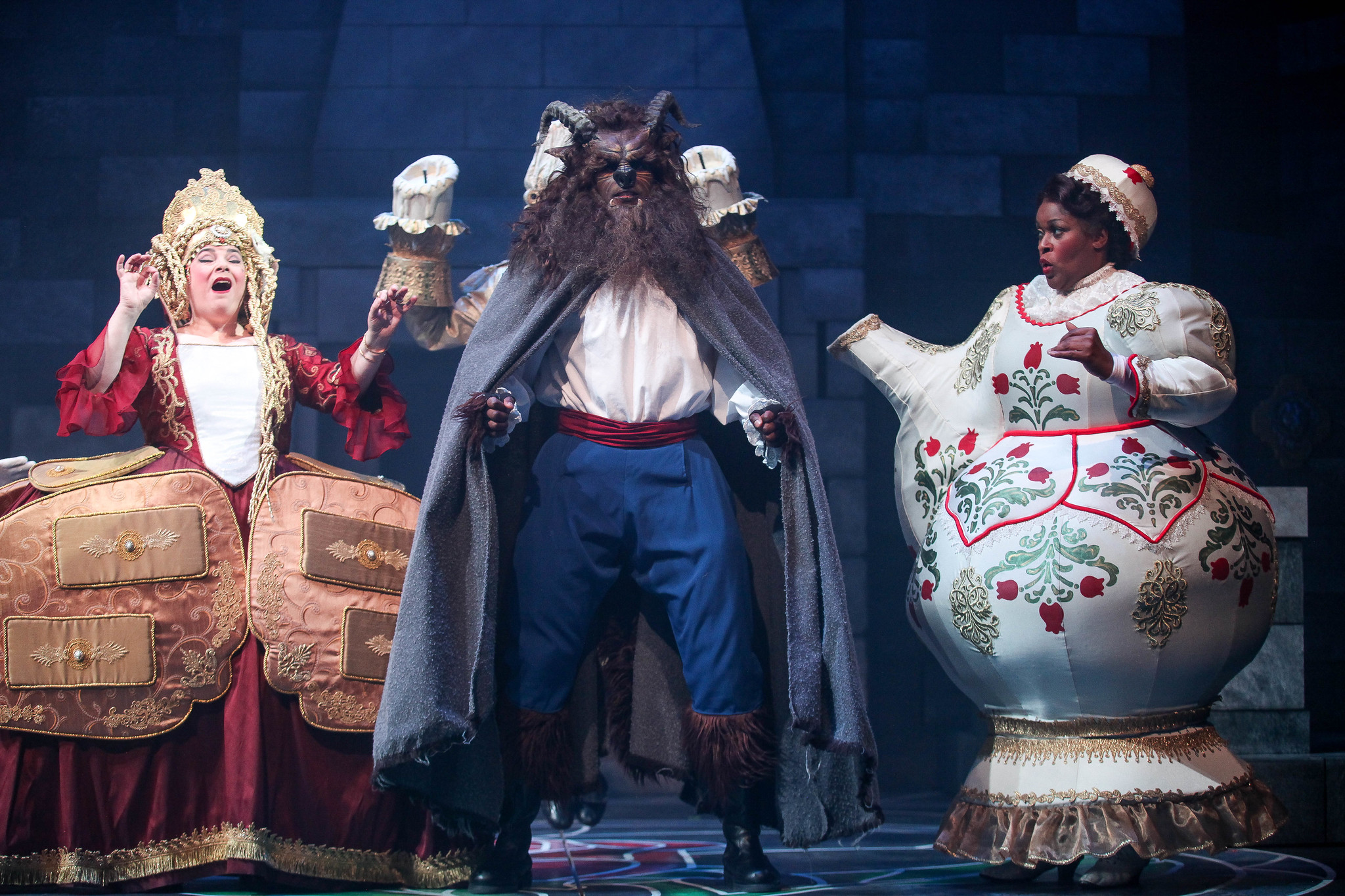 Syracuse Stage S Disney S Beauty And The Beast Delivers High Quality Entertainment Review Syracuse Com