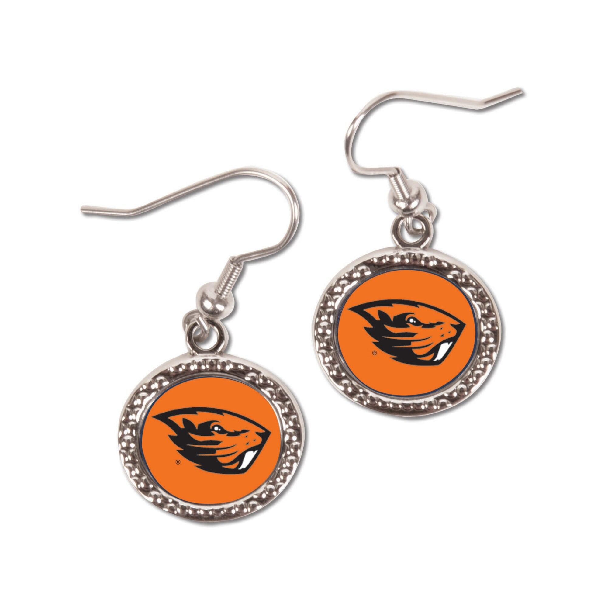 Oregon State Beavers WinCraft Women's Round Dangle Earrings