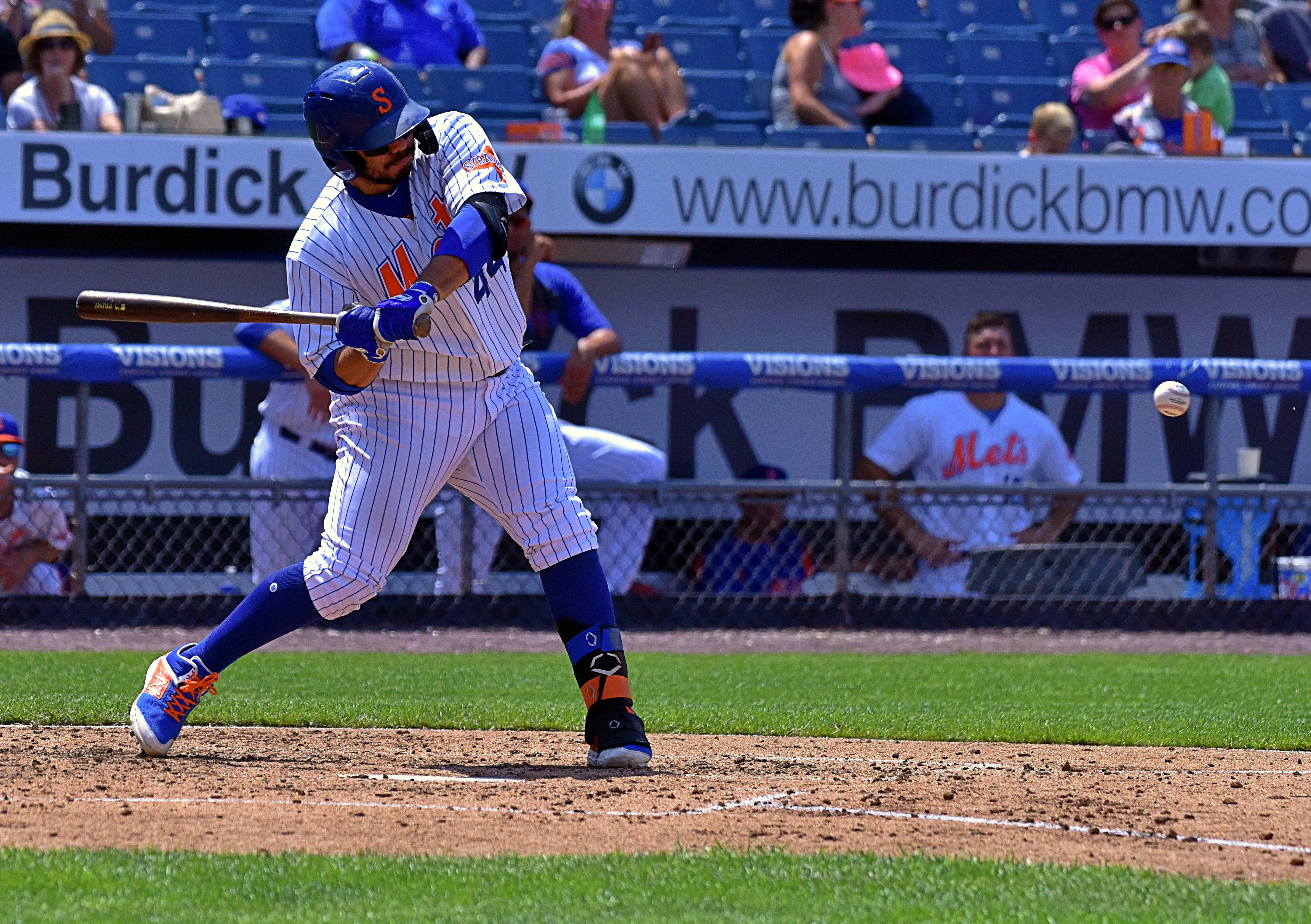Syracuse Mets rally for win over Scranton/Wilkes-Barre