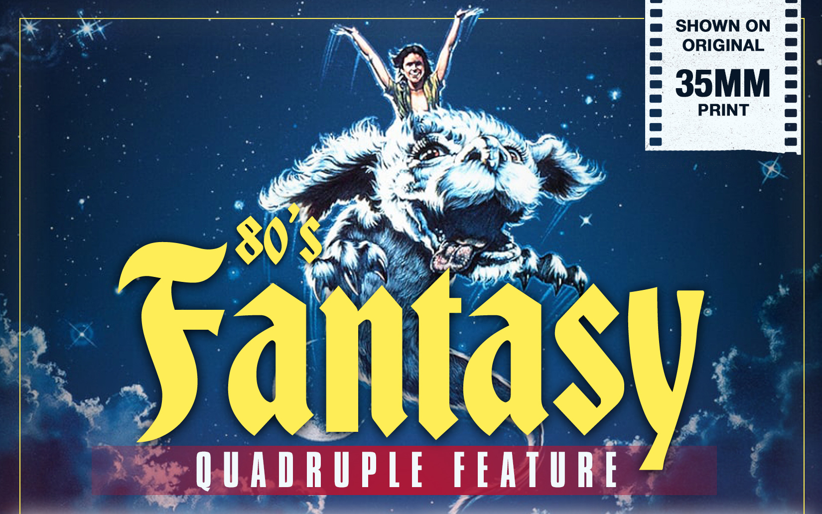 Quadruple feature of '80s fantasy movies coming to big screen in Syracuse