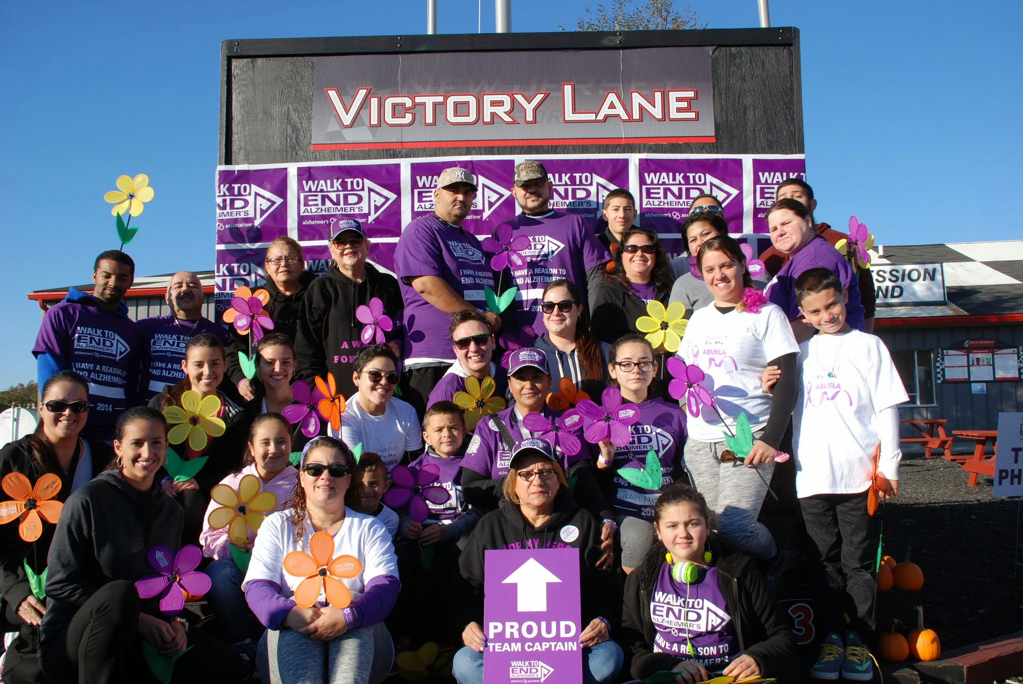 Walk to End Alzheimer's being held at N.J. Motorsports Park in Millville