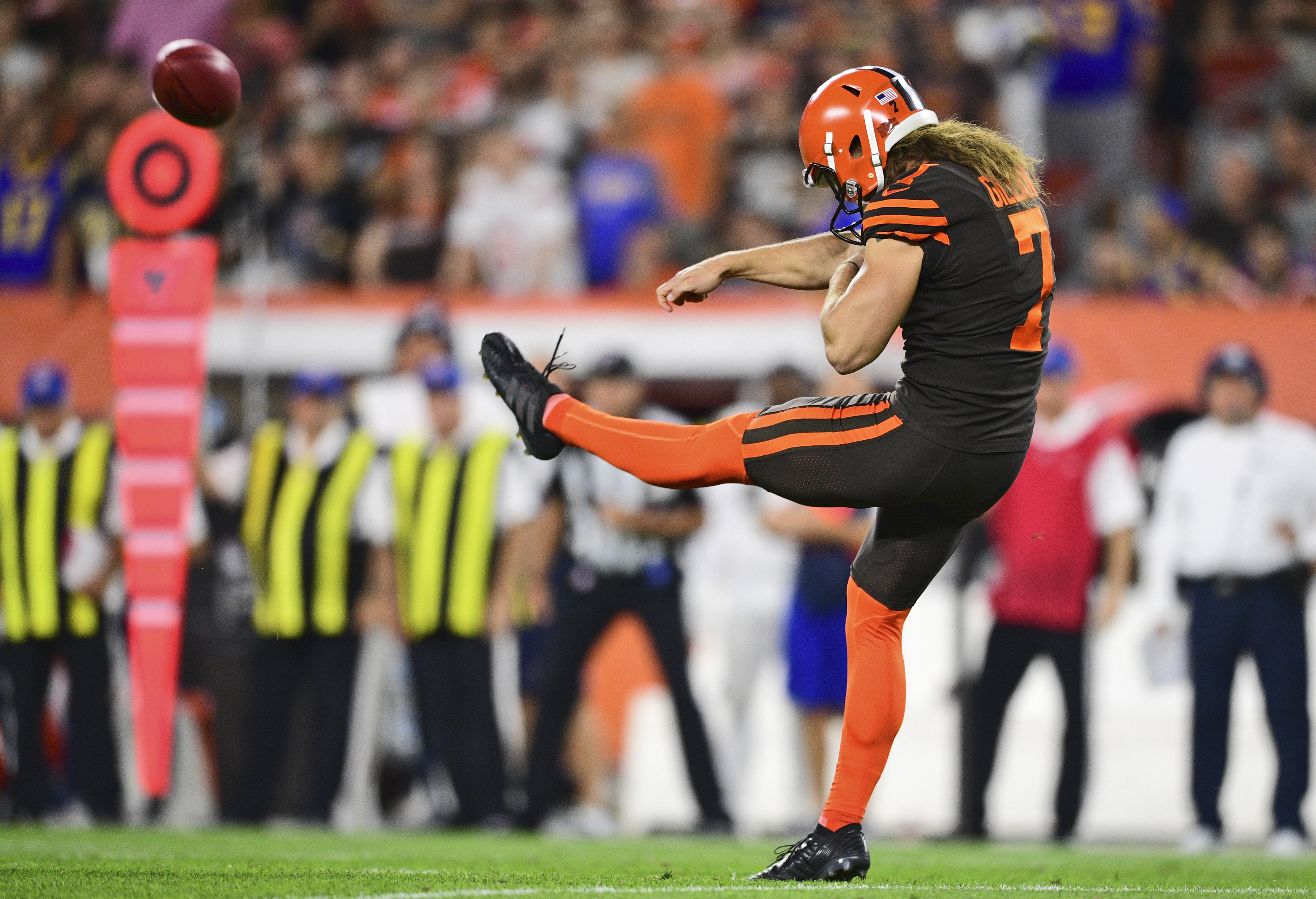 Browns' gamble on Jamie Gillan paying off early