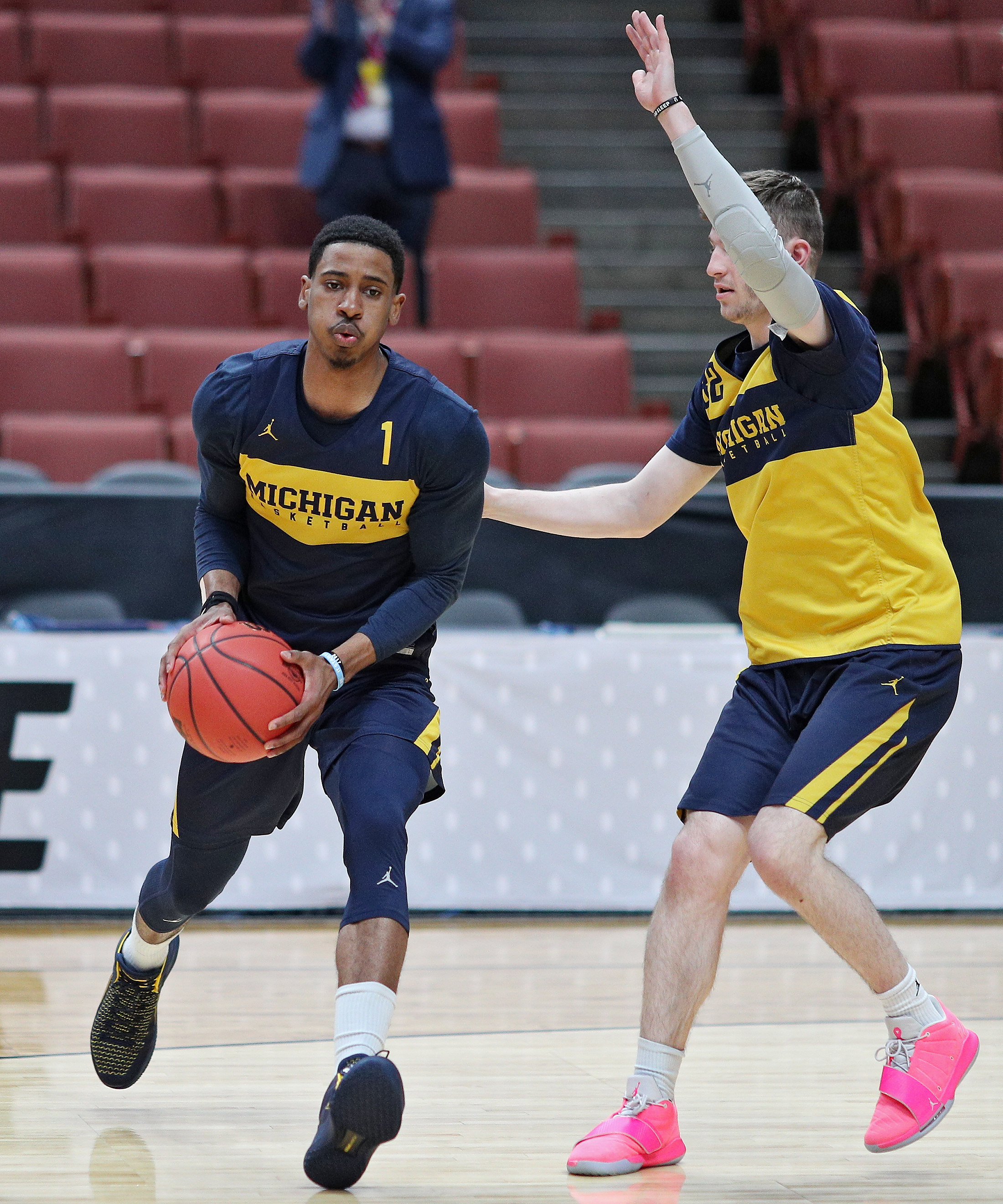 Why do some Michigan basketball players