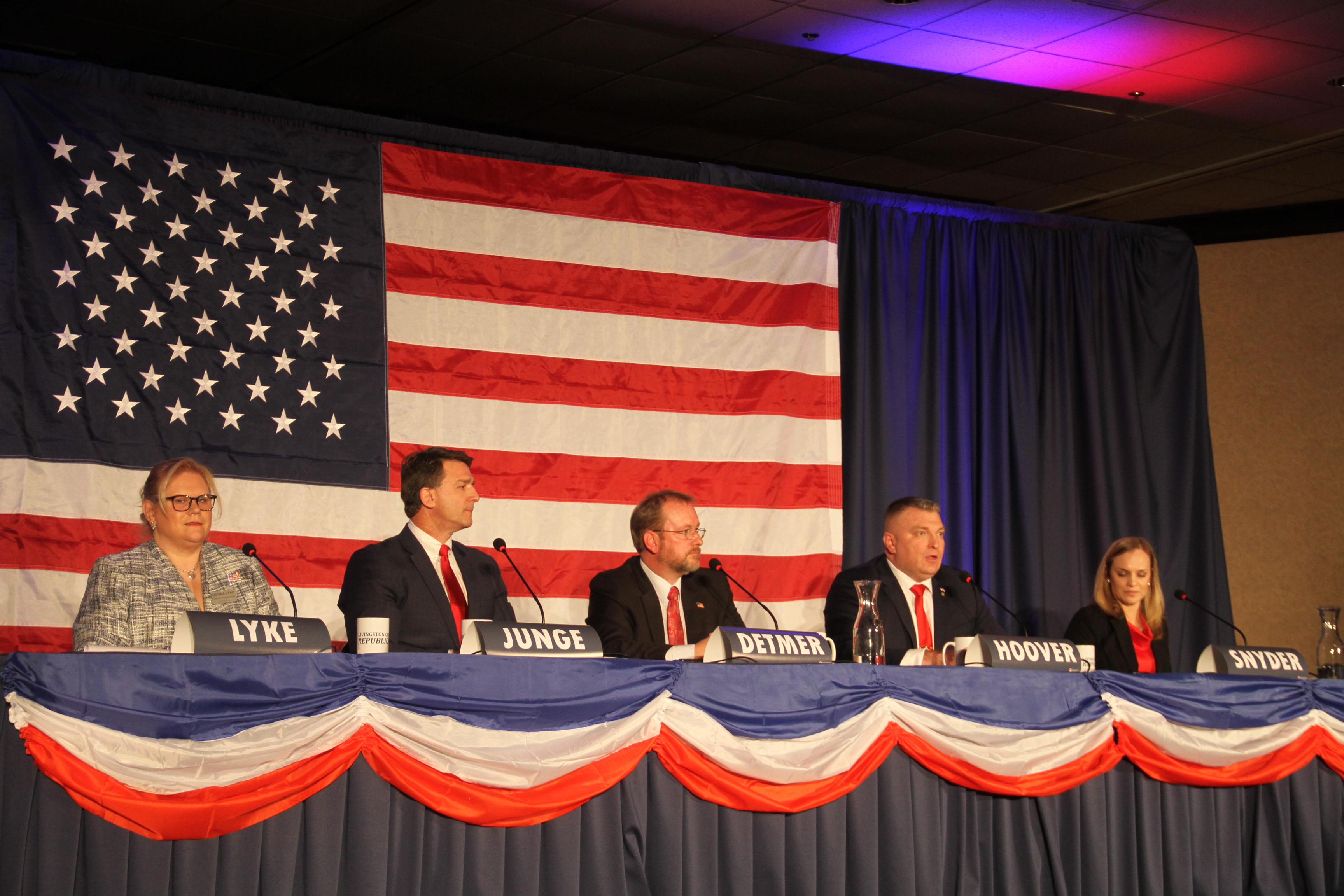 Five Michigan Republicans jockey to take on Slotkin at pro-Trump candidate forum