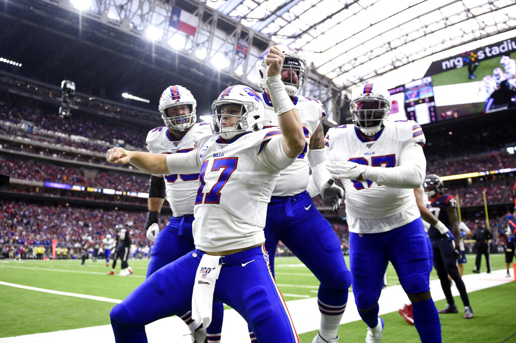 Oddsmakers give Buffalo Bills respect in 2020 over/under win total. Where does team stand in AFC?