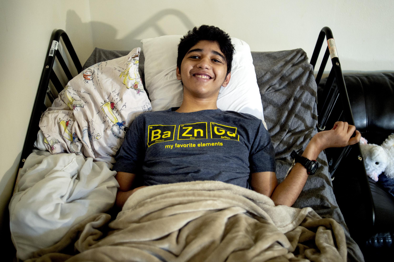 Ann Arbor teen with rare brain disease dies