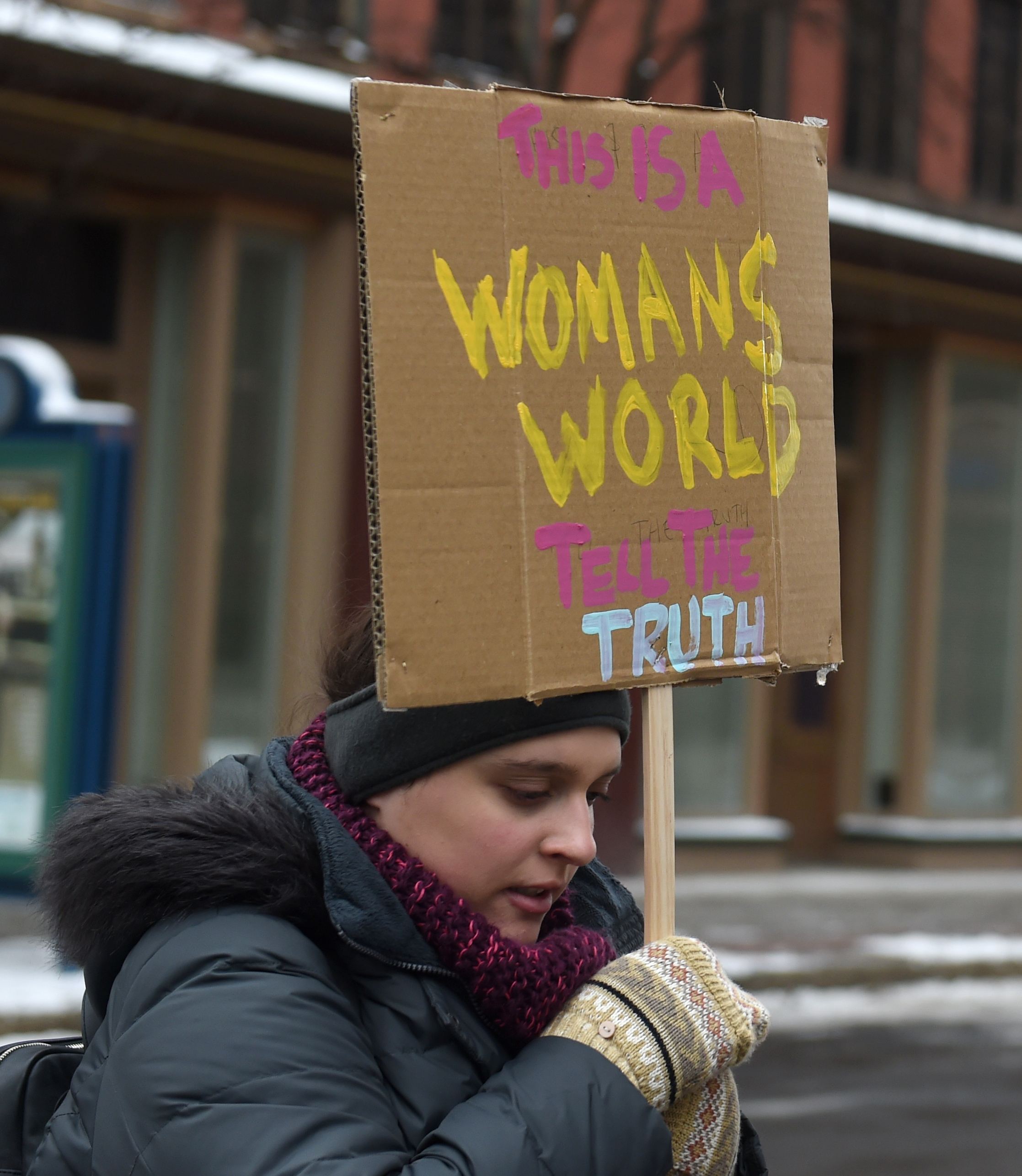 About 150 brave bitter cold for 2020 Women's March in Syracuse (photos)